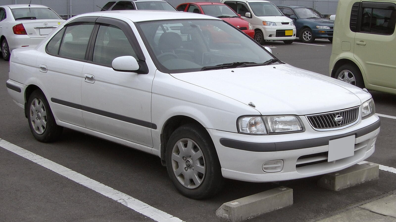 1998 Nissan Sunny B15 Pictures Information And Specs