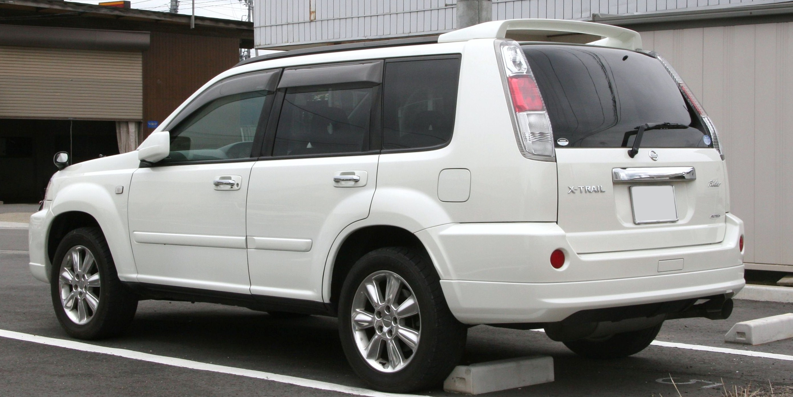 nissan x-trail 2003 images