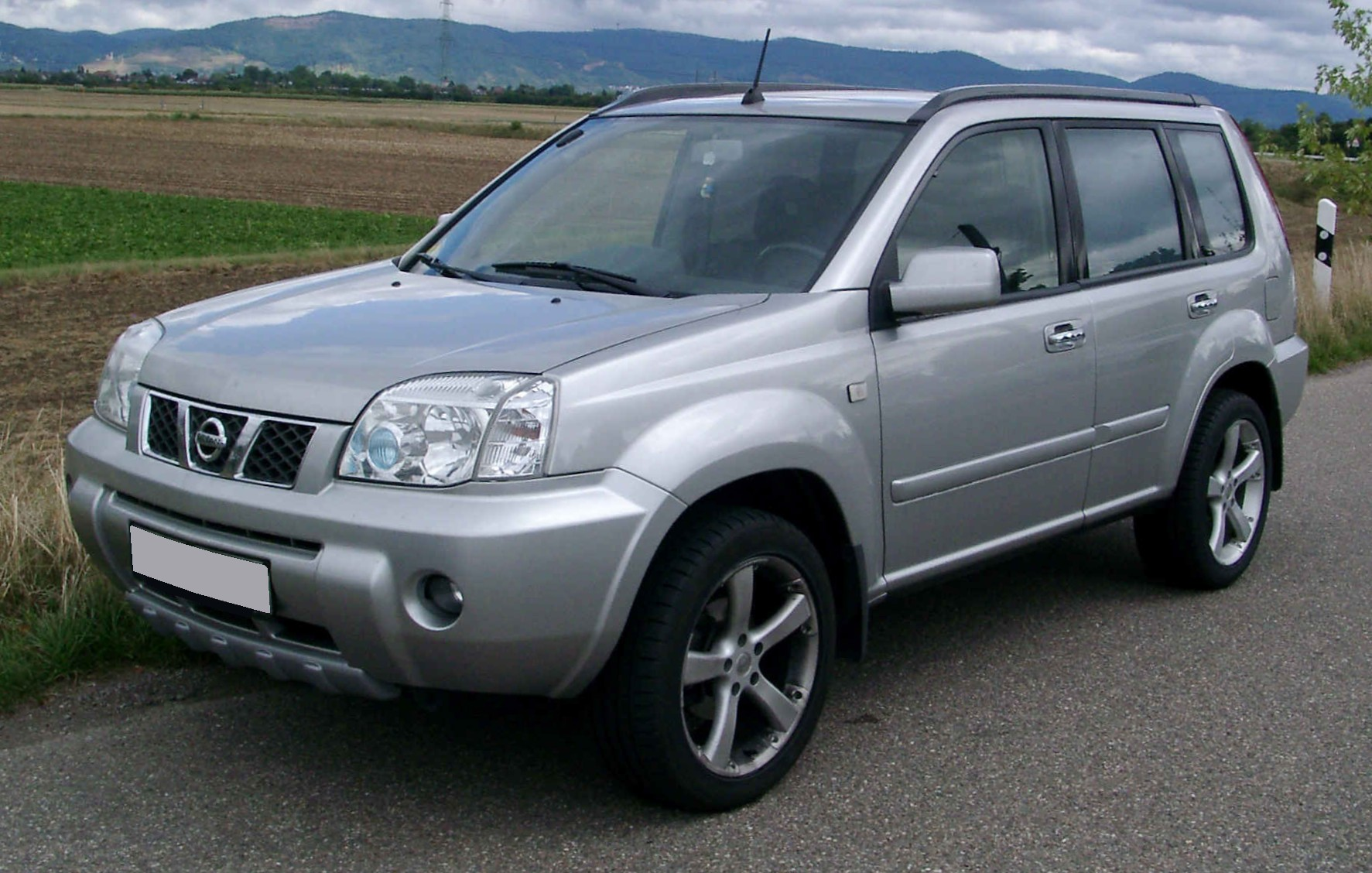 nissan x-trail pictures #8