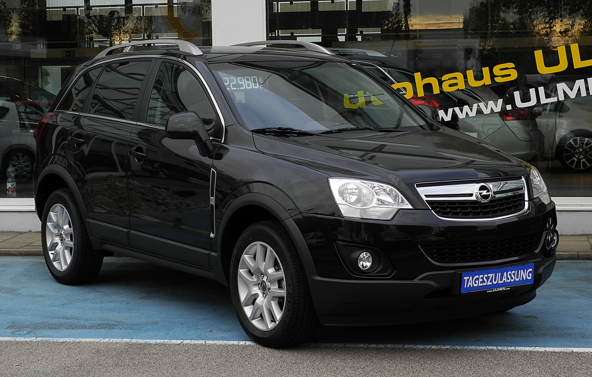 2006 opel antara pictures information and specs auto. Black Bedroom Furniture Sets. Home Design Ideas