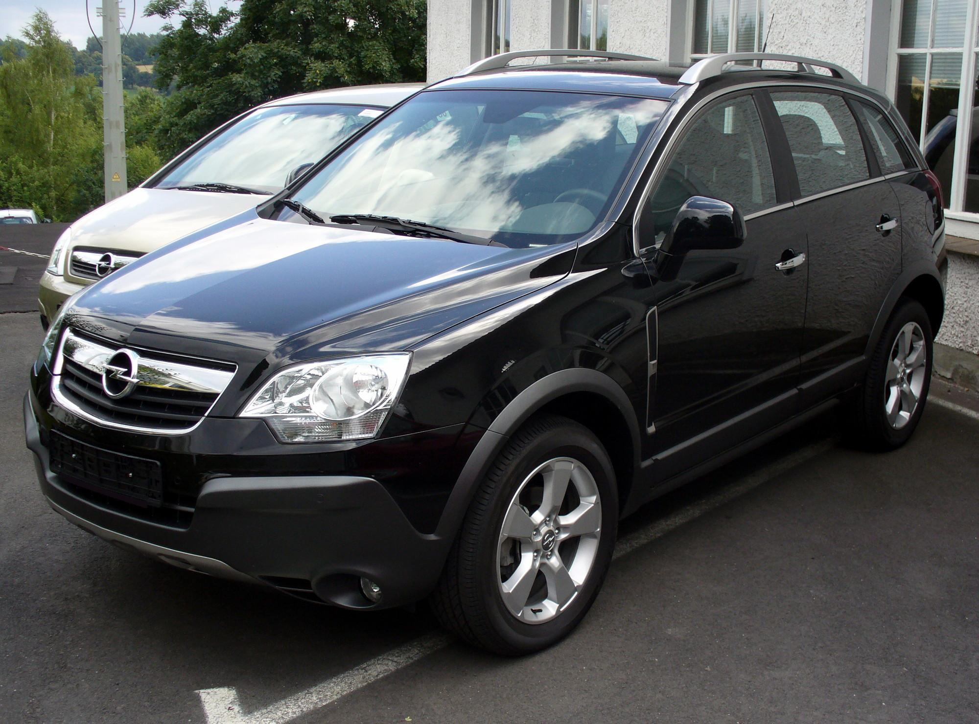2008 opel antara pictures information and specs auto. Black Bedroom Furniture Sets. Home Design Ideas
