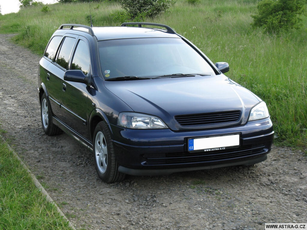 1998 Opel Astra g caravan – pictures, information and ...