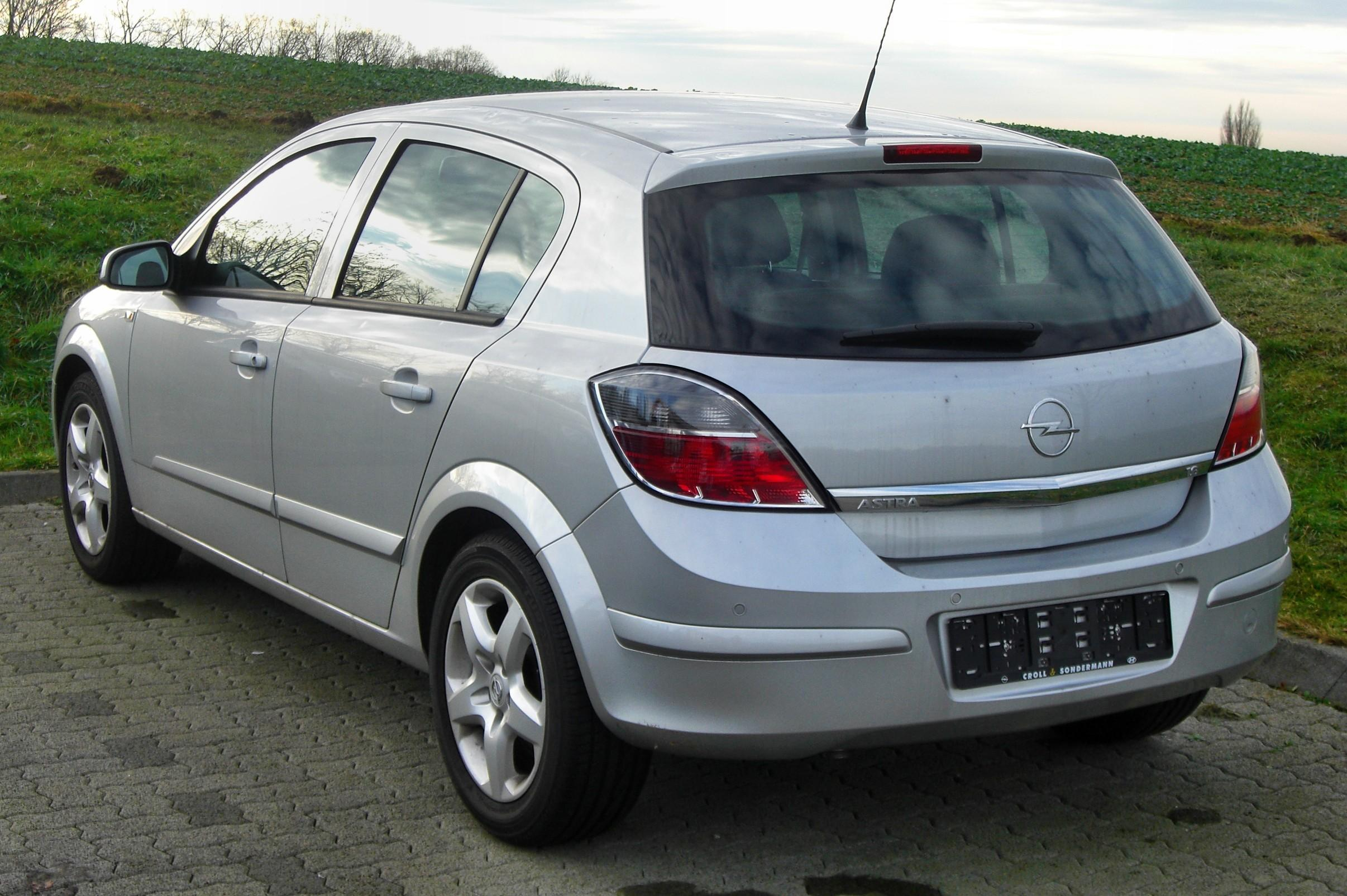 2009 opel astra h pictures information and specs auto. Black Bedroom Furniture Sets. Home Design Ideas