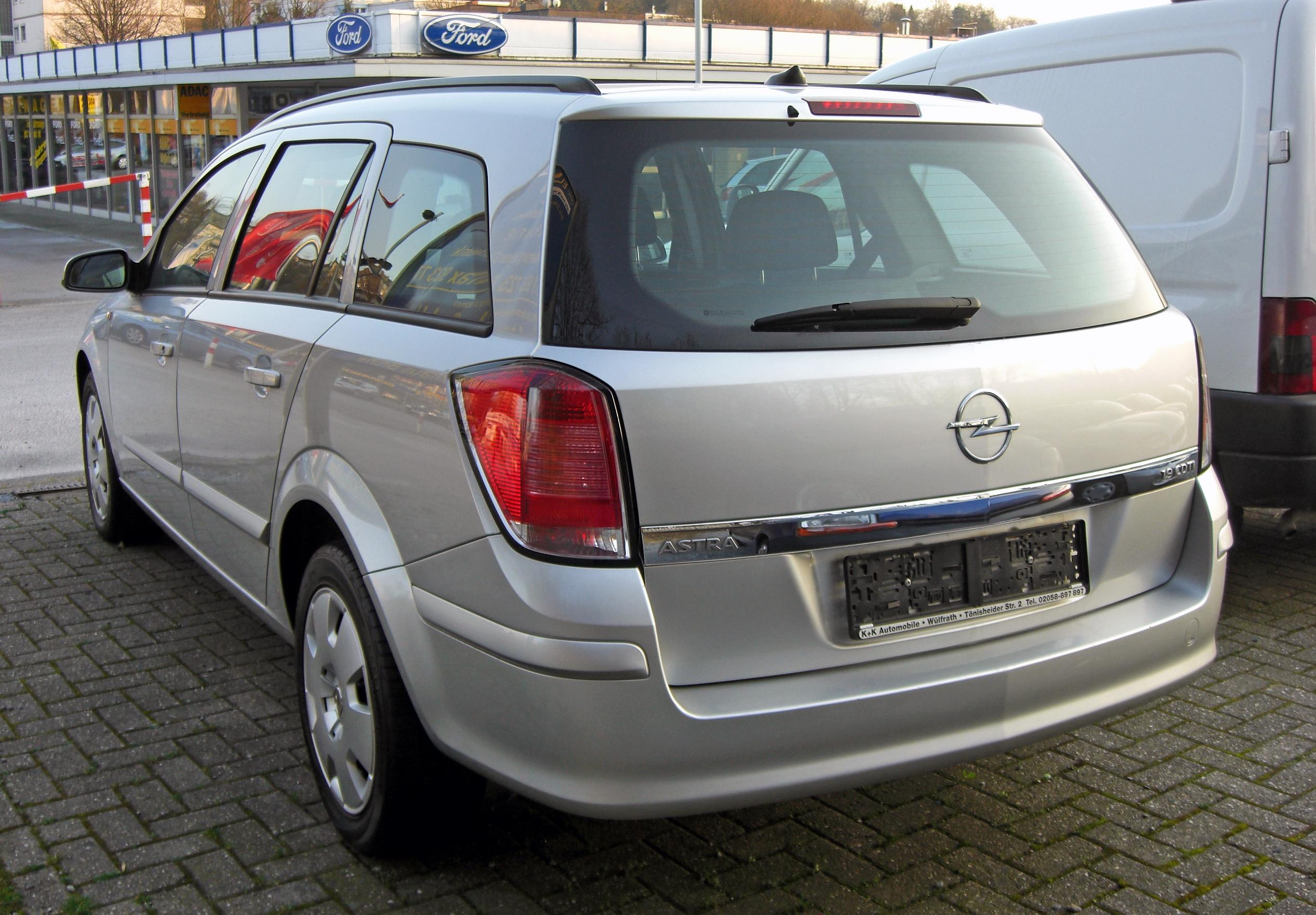 2009 opel astra h caravan pictures information and specs auto. Black Bedroom Furniture Sets. Home Design Ideas