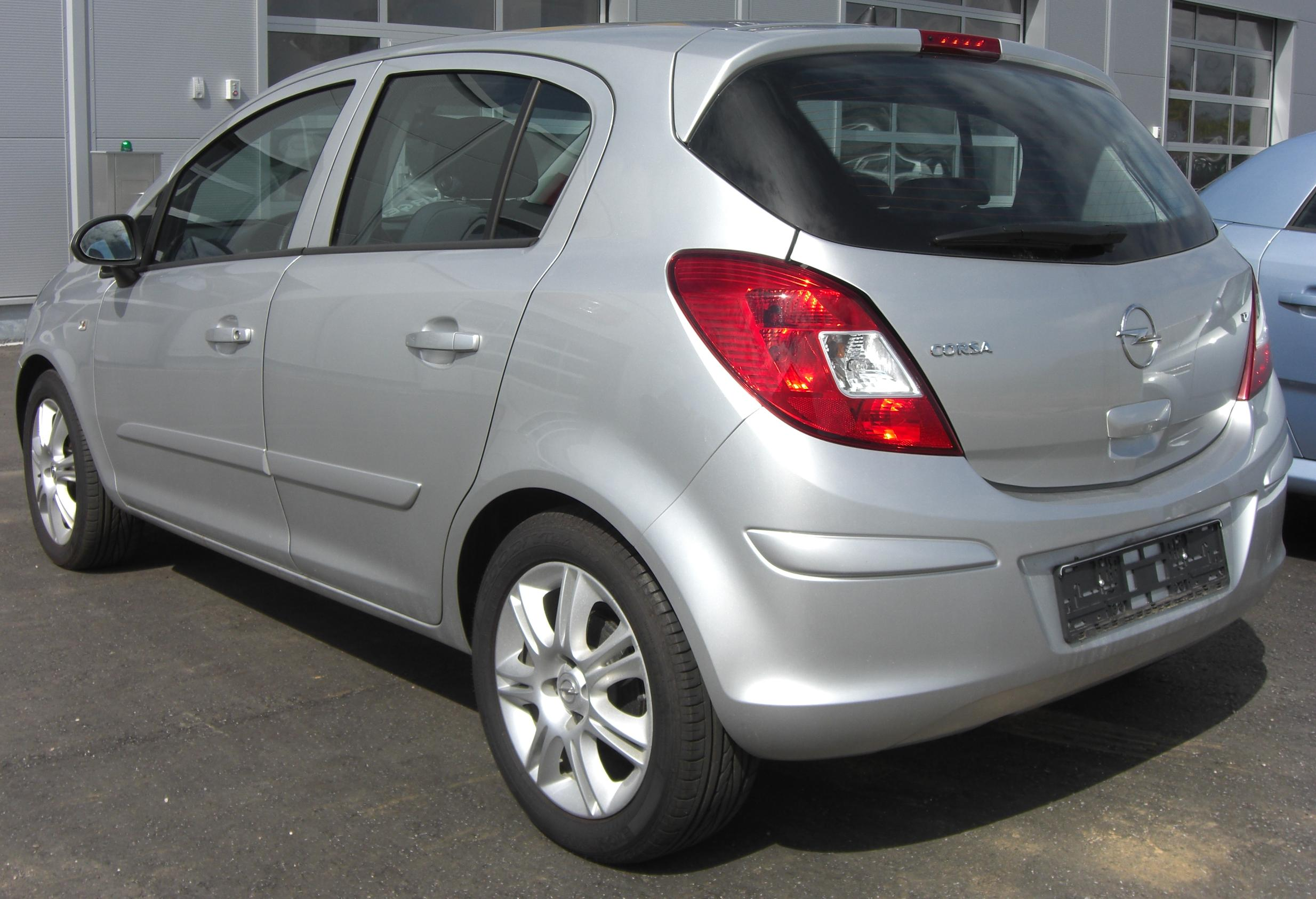2008 Opel Corsa D Pictures Information And Specs Auto
