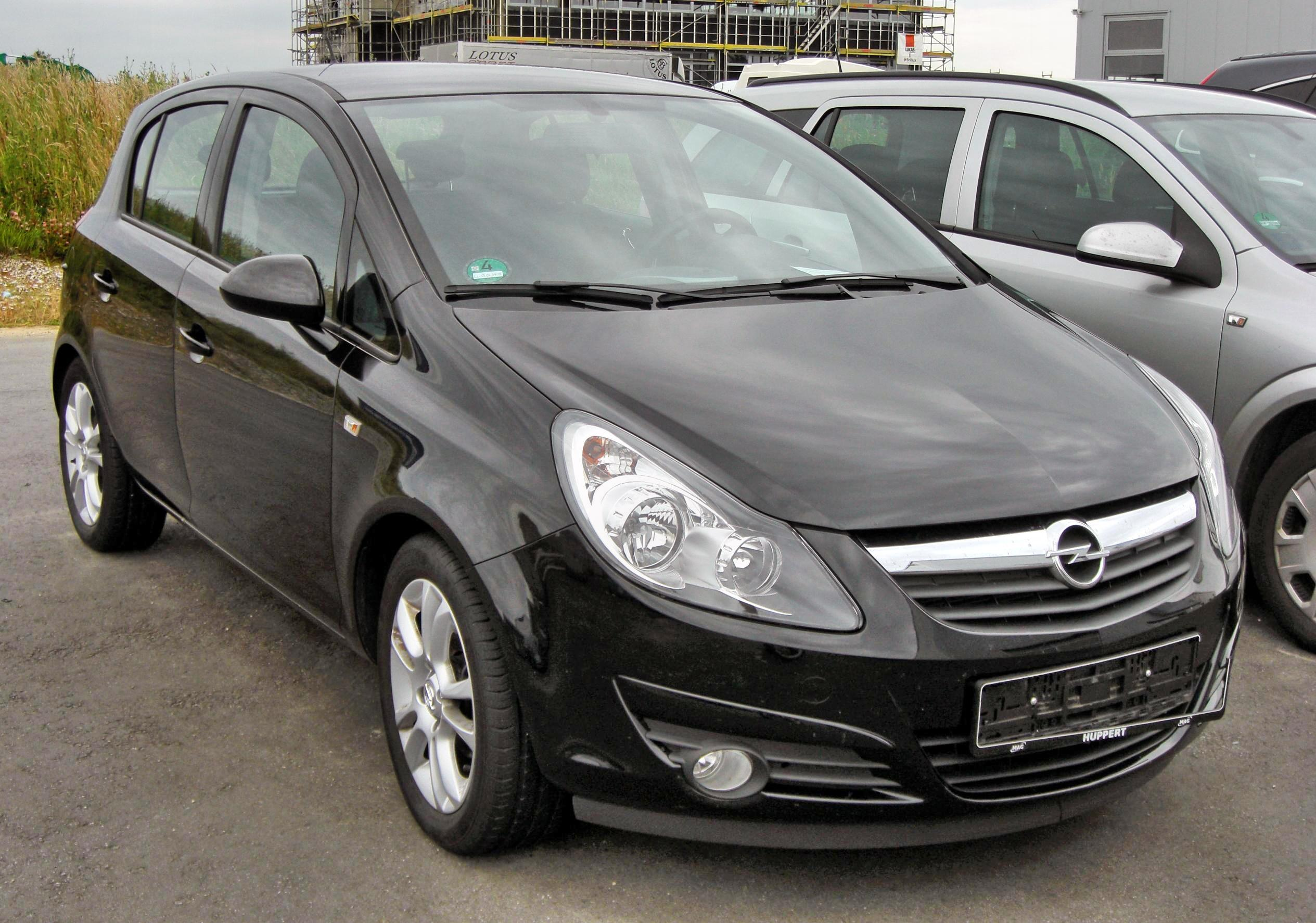 2009 opel corsa d pictures information and specs auto. Black Bedroom Furniture Sets. Home Design Ideas