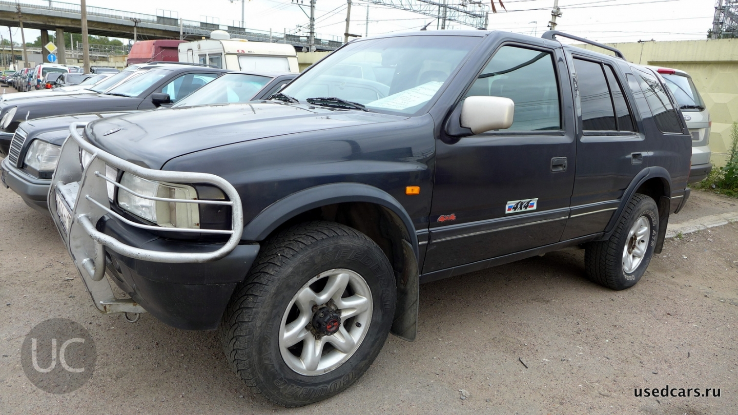 1997 opel frontera a pictures information and specs auto. Black Bedroom Furniture Sets. Home Design Ideas
