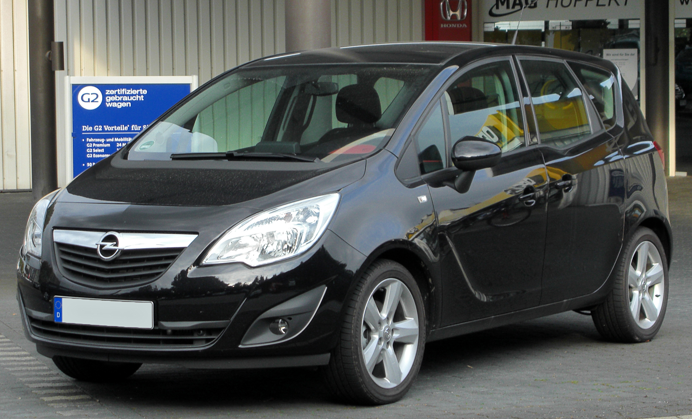 2012 opel meriva b  u2013 pictures  information and specs