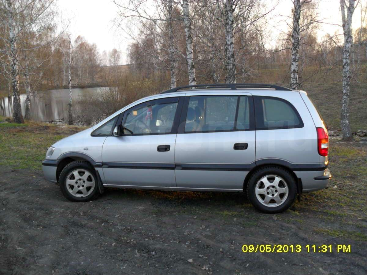 opel zafira a 2000 wallpaper