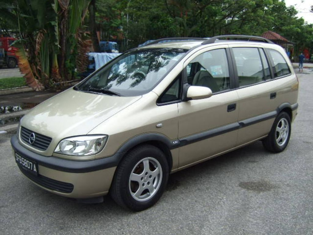 2002 opel zafira a pictures information and specs. Black Bedroom Furniture Sets. Home Design Ideas