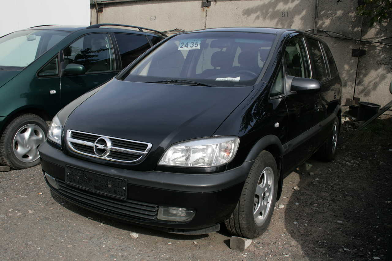 2003 opel zafira a pictures information and specs auto. Black Bedroom Furniture Sets. Home Design Ideas