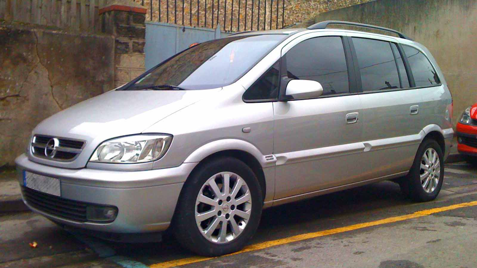 2004 Opel Zafira A Pictures Information And Specs