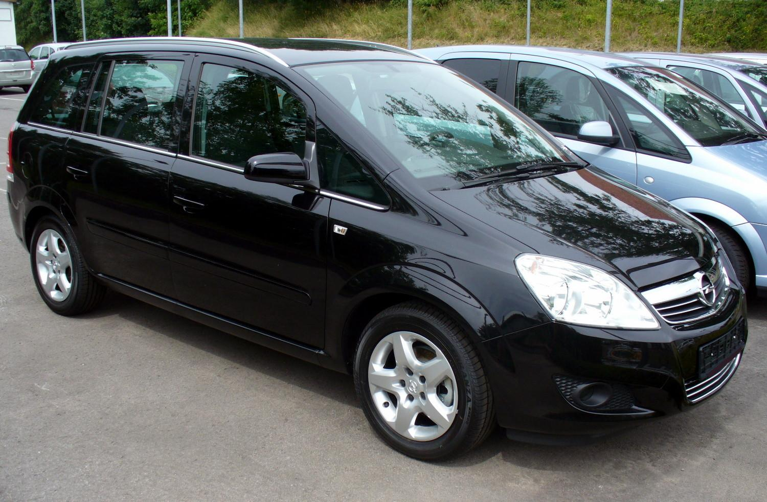 2008 opel zafira b pictures information and specs auto. Black Bedroom Furniture Sets. Home Design Ideas