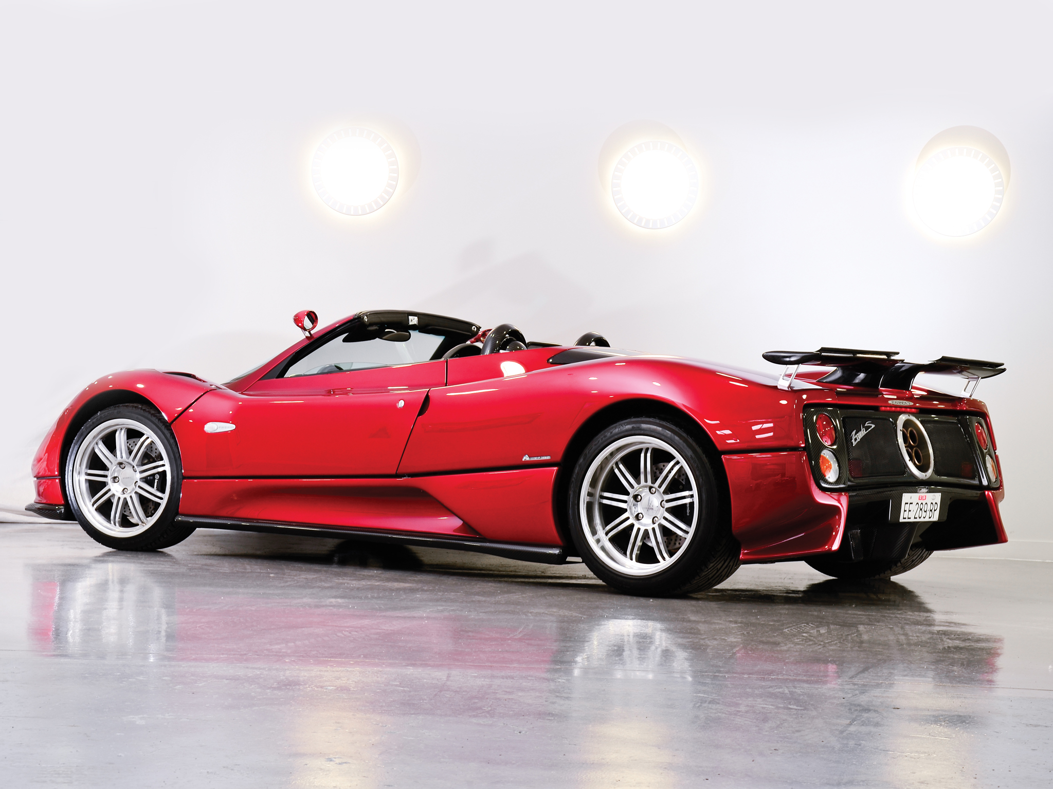 pagani zonda c12 2005 wallpaper