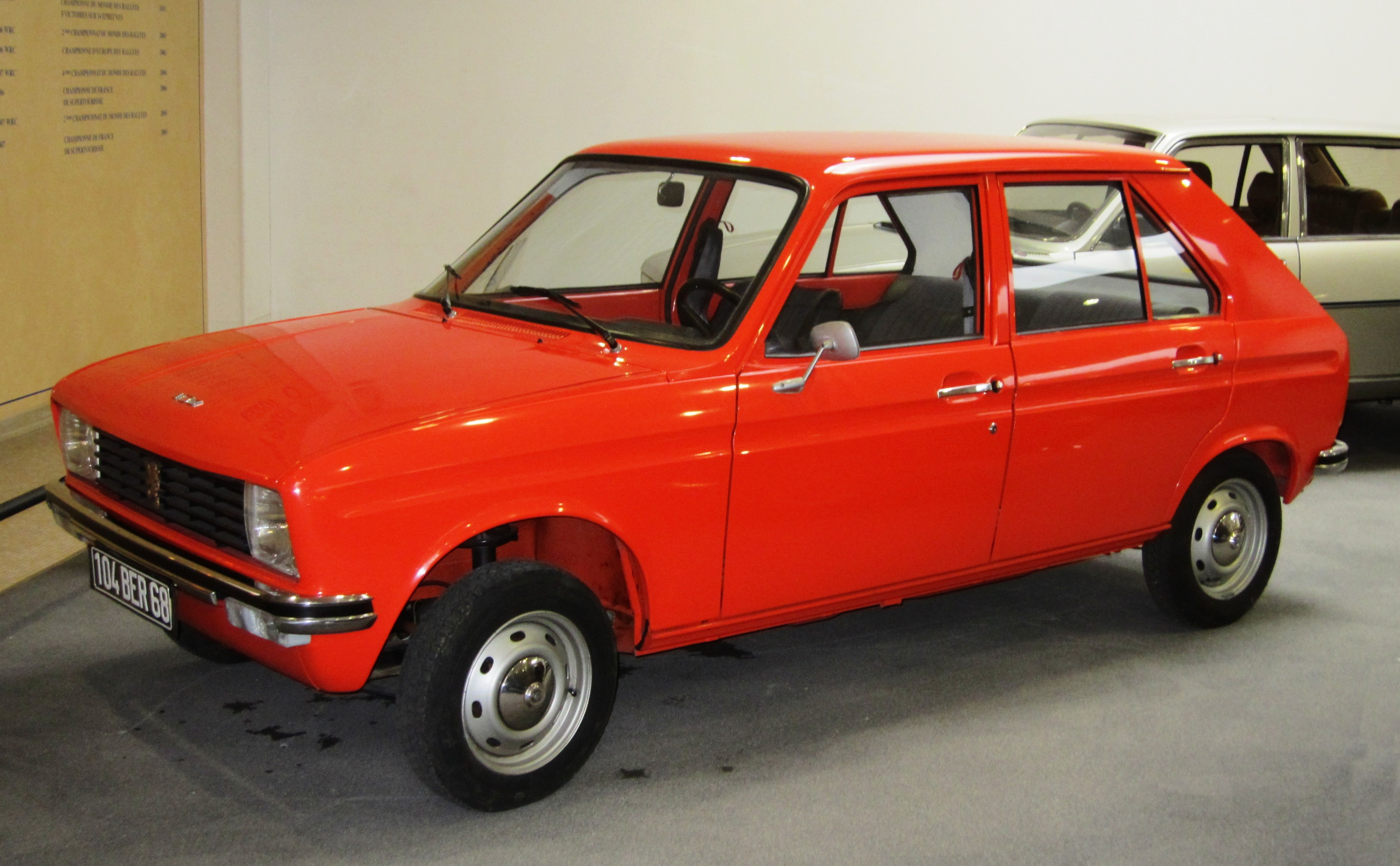 peugeot 104 pictures #1