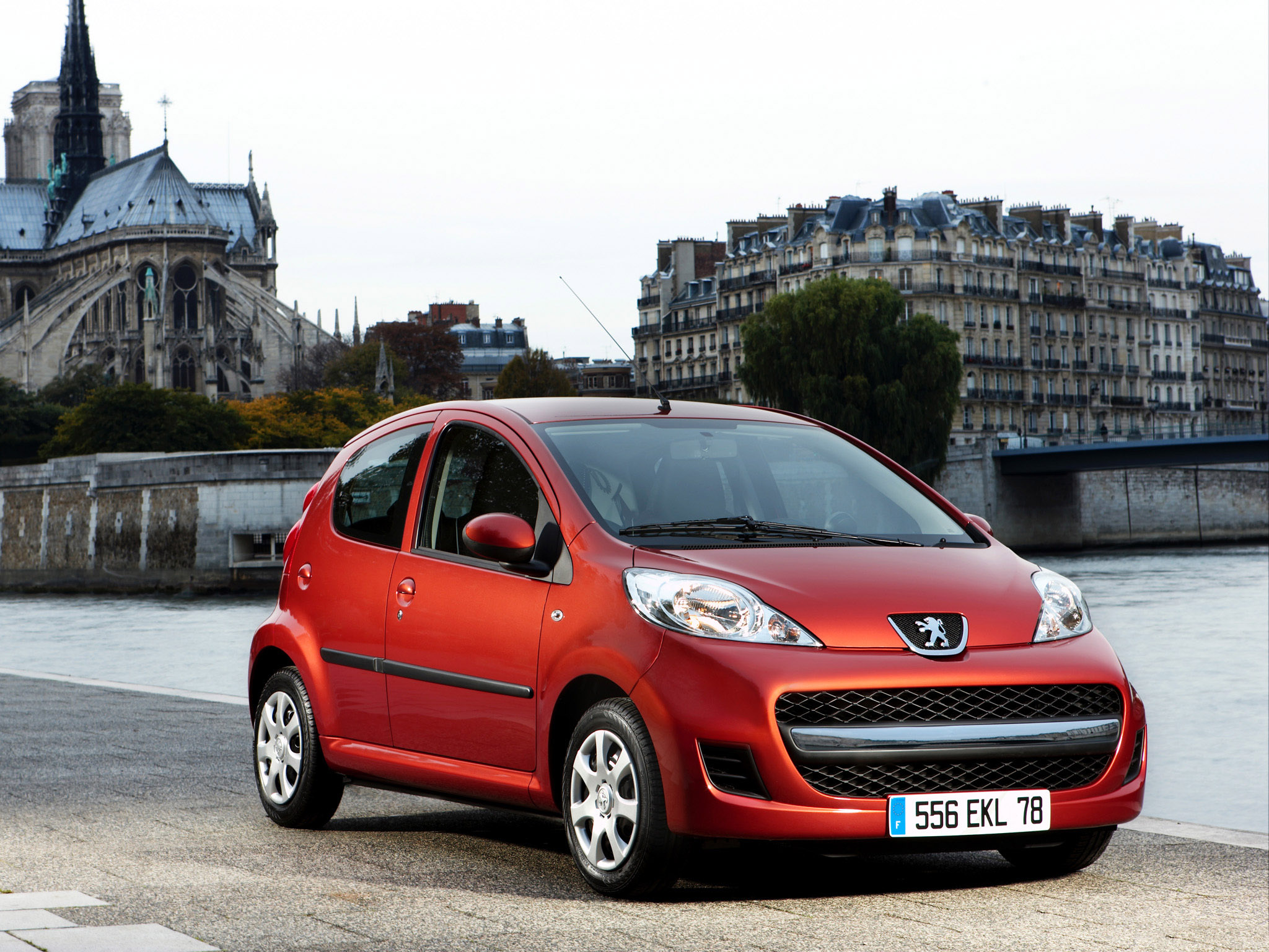 2008 Peugeot 107 Pictures Information And Specs Auto