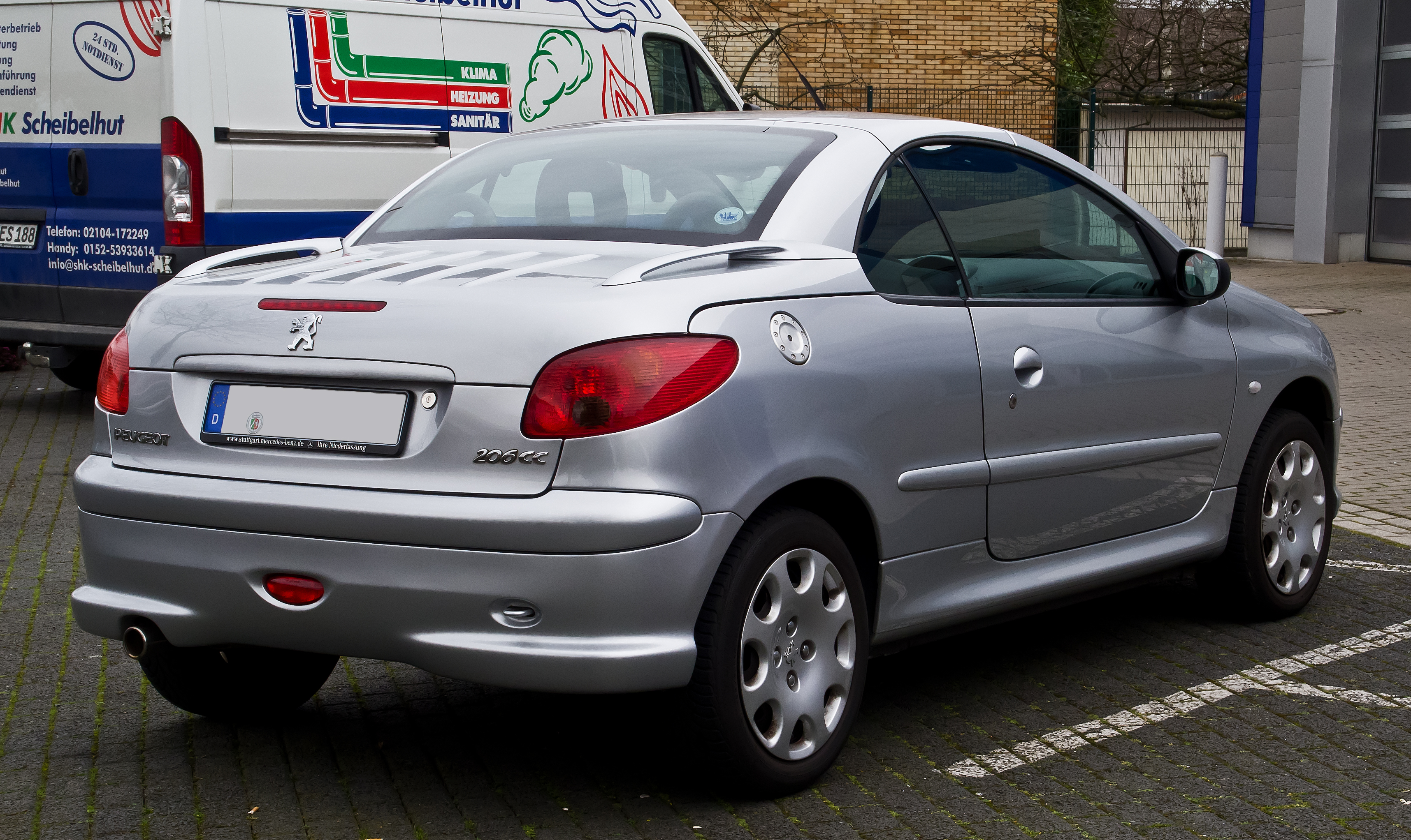 2004 peugeot 206 cc pictures information and specs auto. Black Bedroom Furniture Sets. Home Design Ideas
