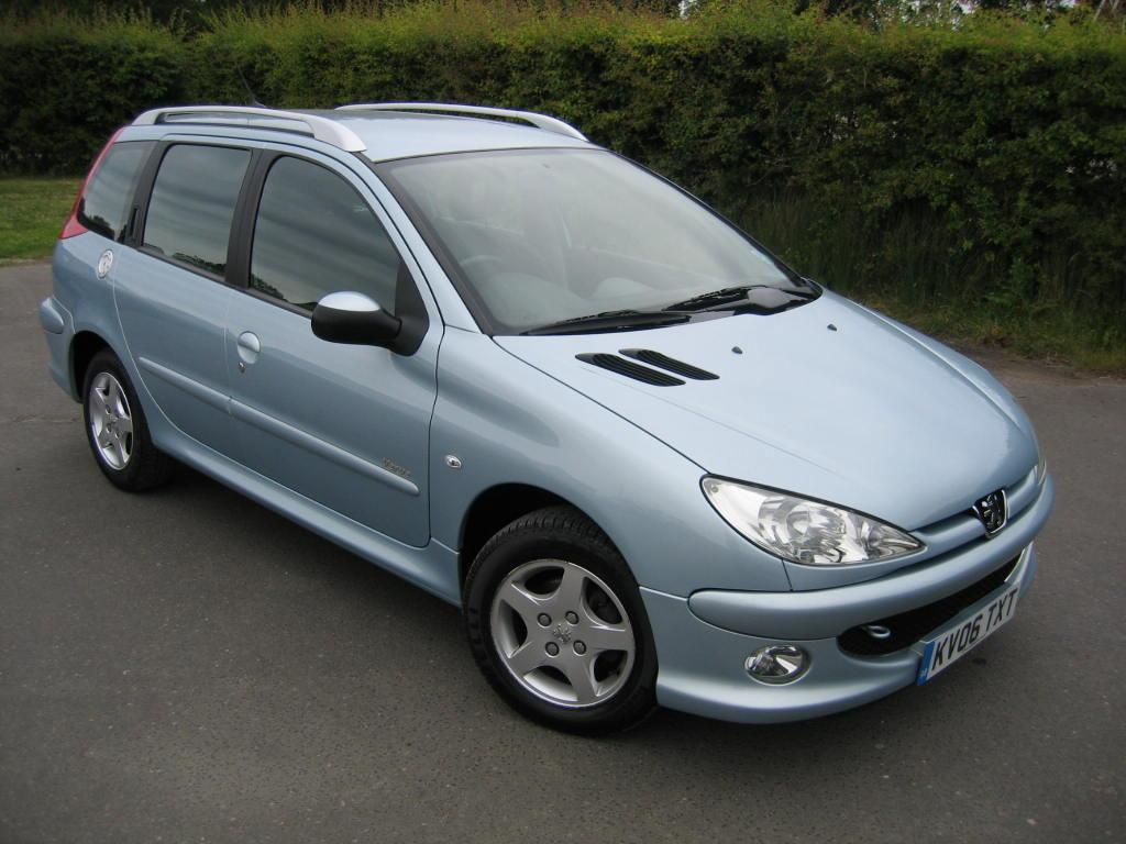 2005 peugeot 206 sw pictures information and specs auto. Black Bedroom Furniture Sets. Home Design Ideas