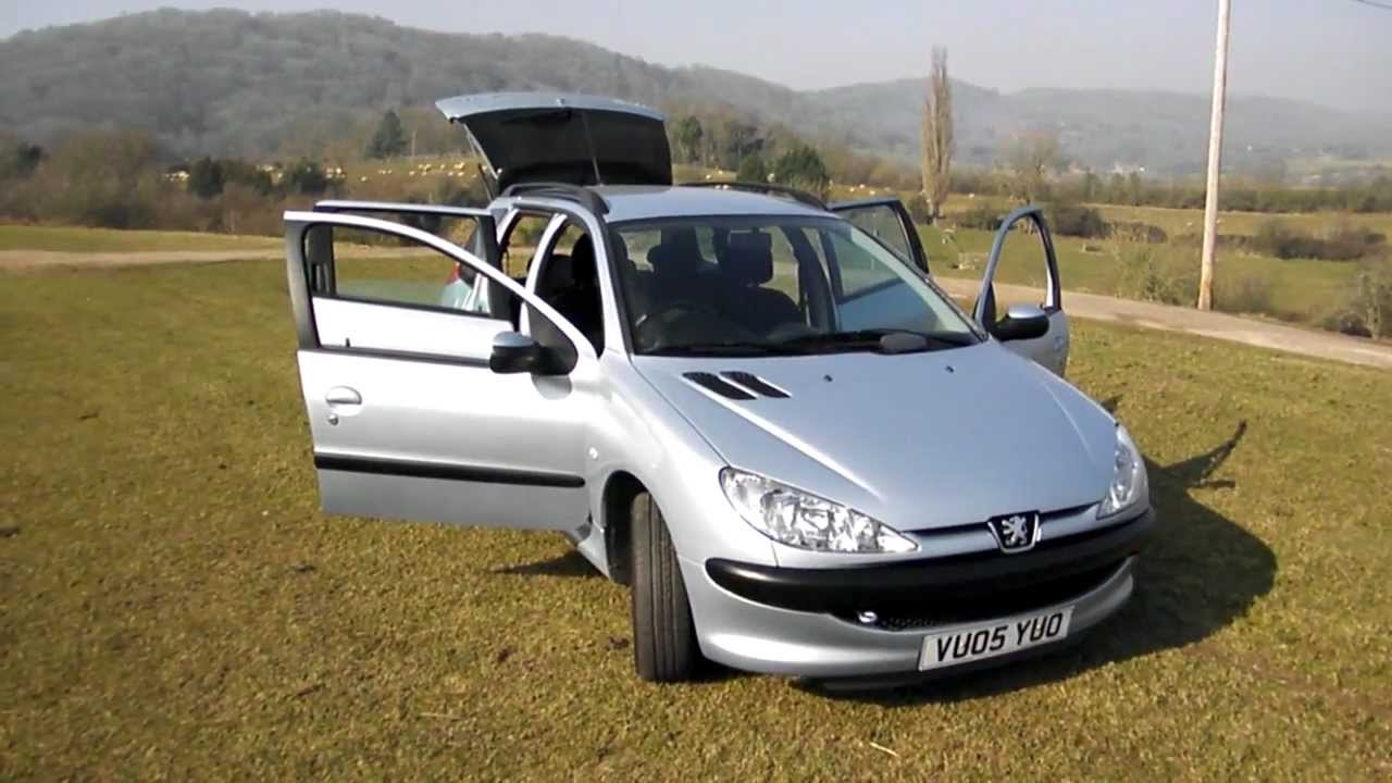 2005 Peugeot 206 Sw Pictures Information And Specs