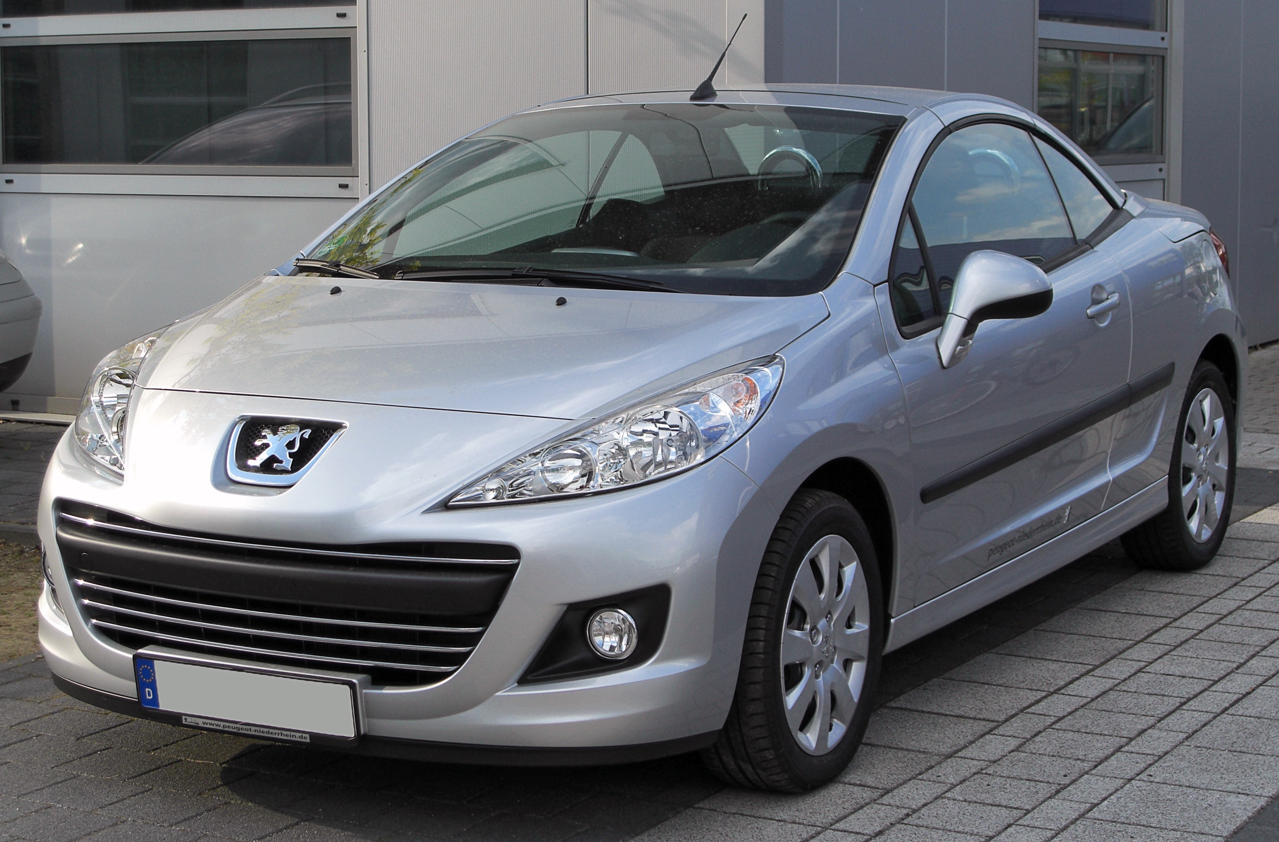 2010 peugeot 207 cc pictures information and specs. Black Bedroom Furniture Sets. Home Design Ideas