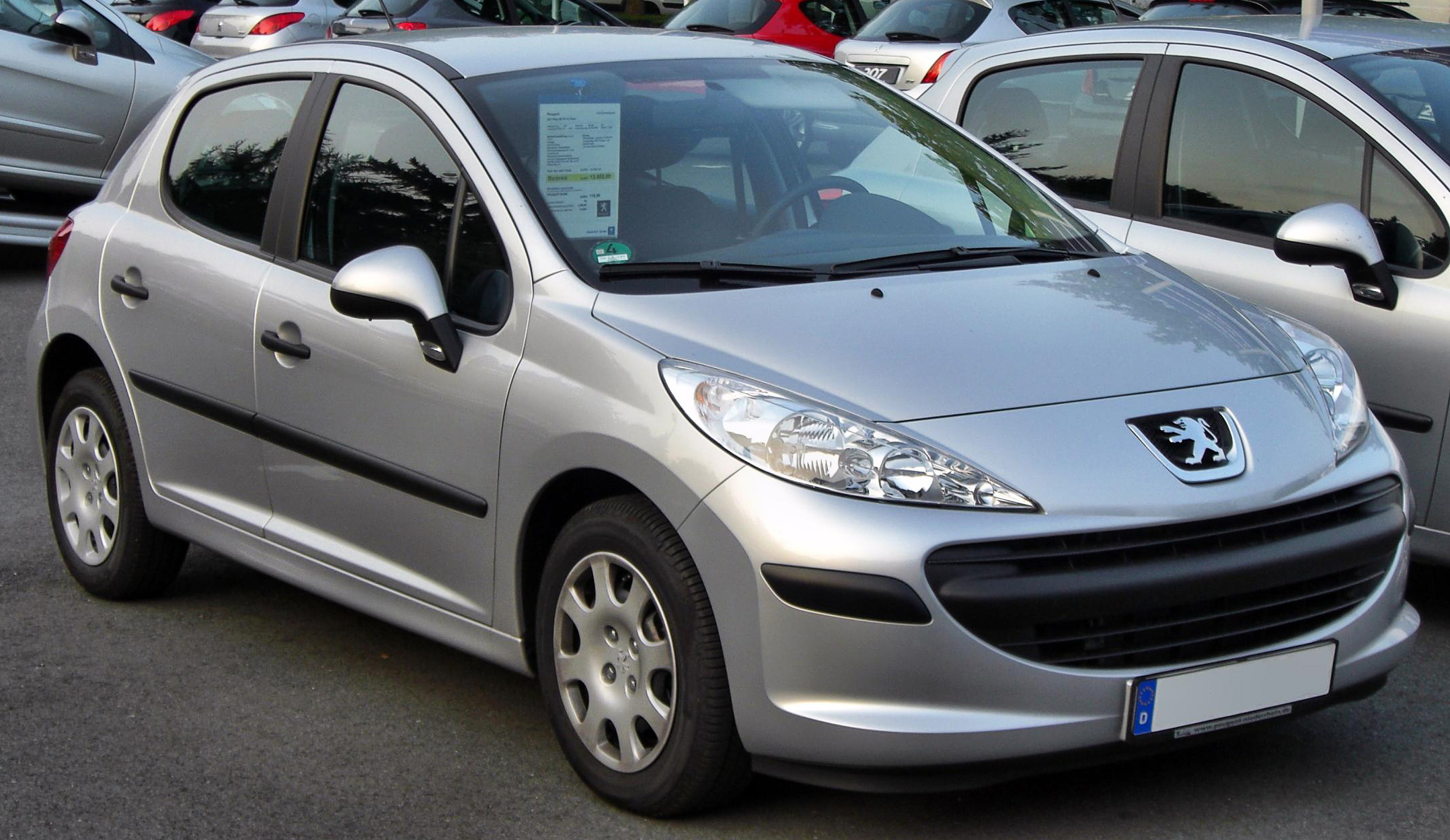 peugeot 207 pictures information and specs auto. Black Bedroom Furniture Sets. Home Design Ideas