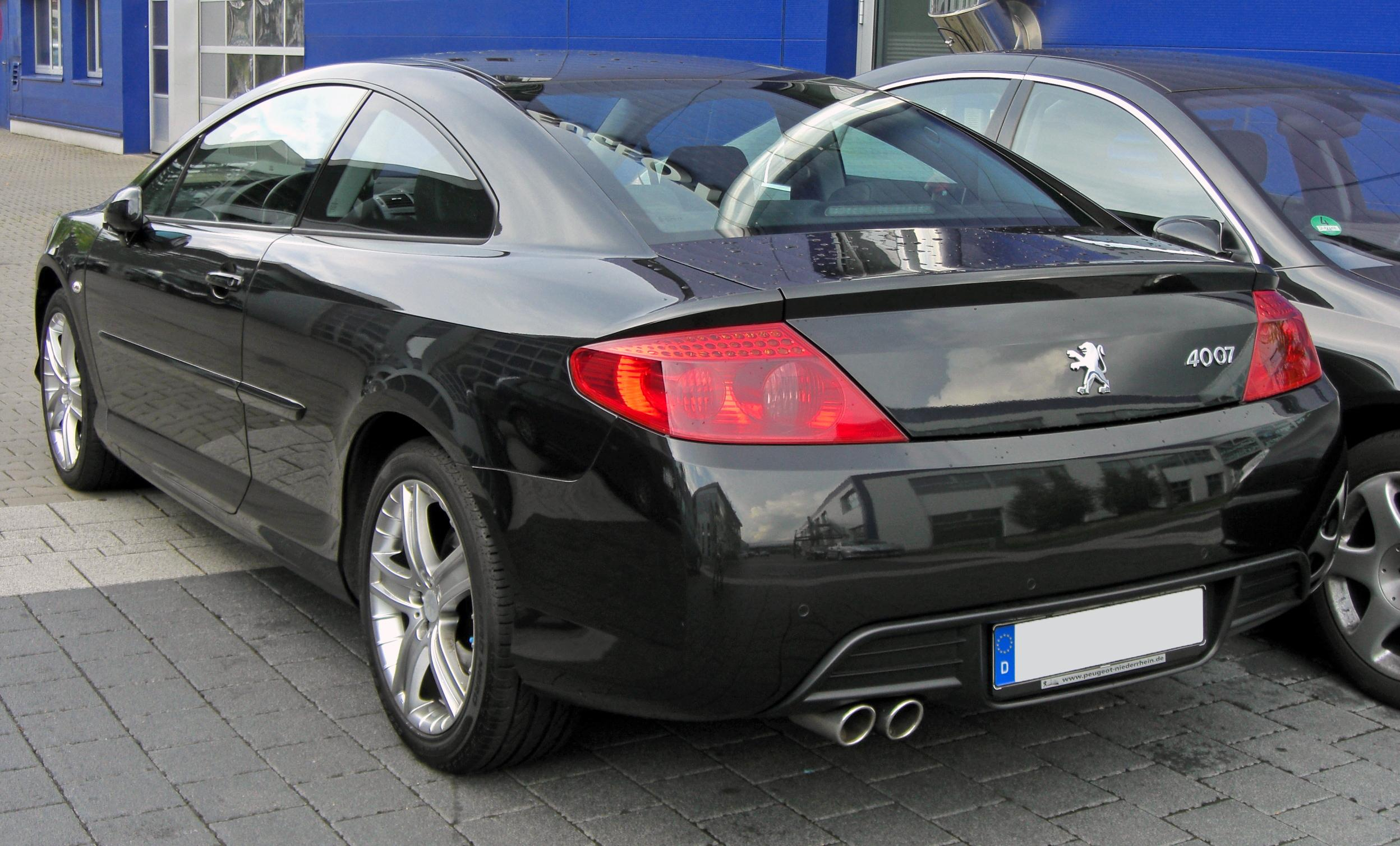 2009 peugeot 407 coupe pictures information and specs auto. Black Bedroom Furniture Sets. Home Design Ideas