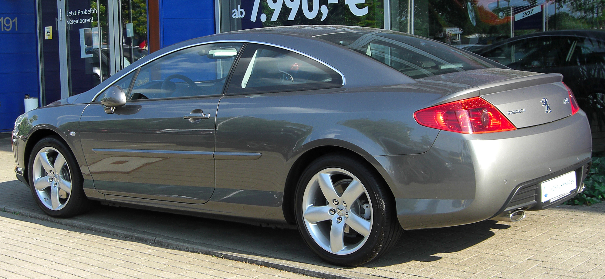 2010 peugeot 407 coupe pictures information and specs. Black Bedroom Furniture Sets. Home Design Ideas