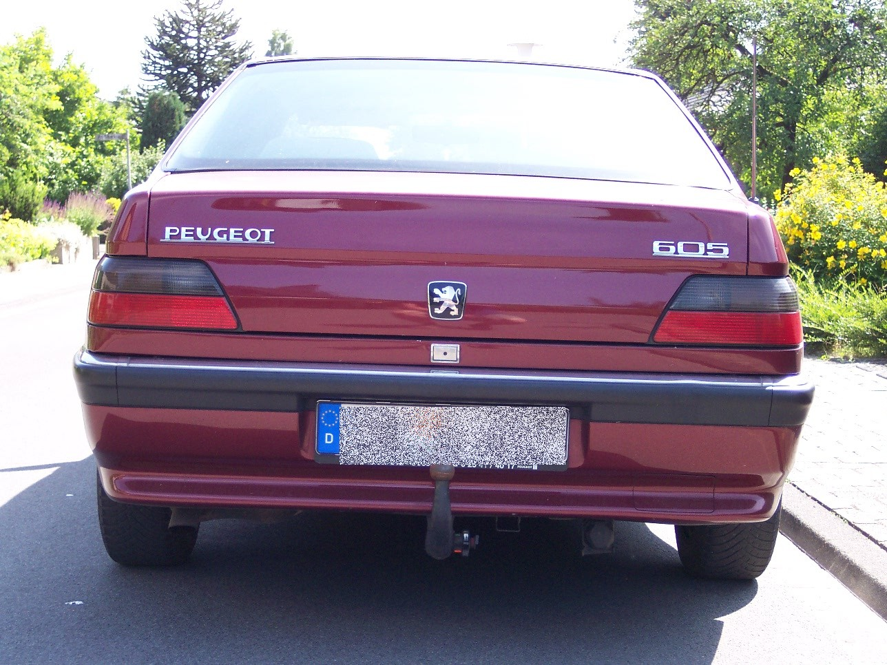 peugeot 605 pictures #5