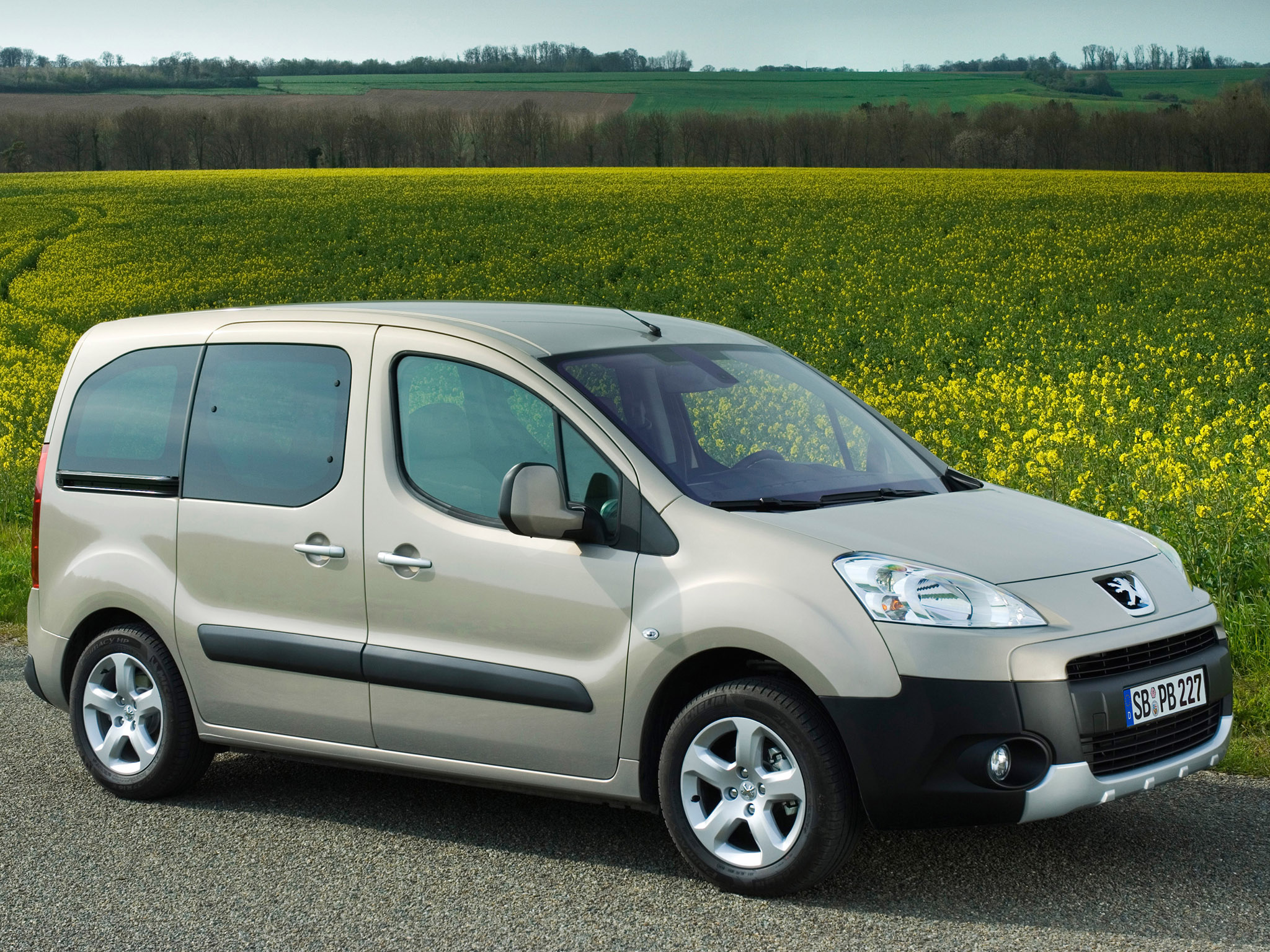 peugeot partner tepee 2009 pictures #2