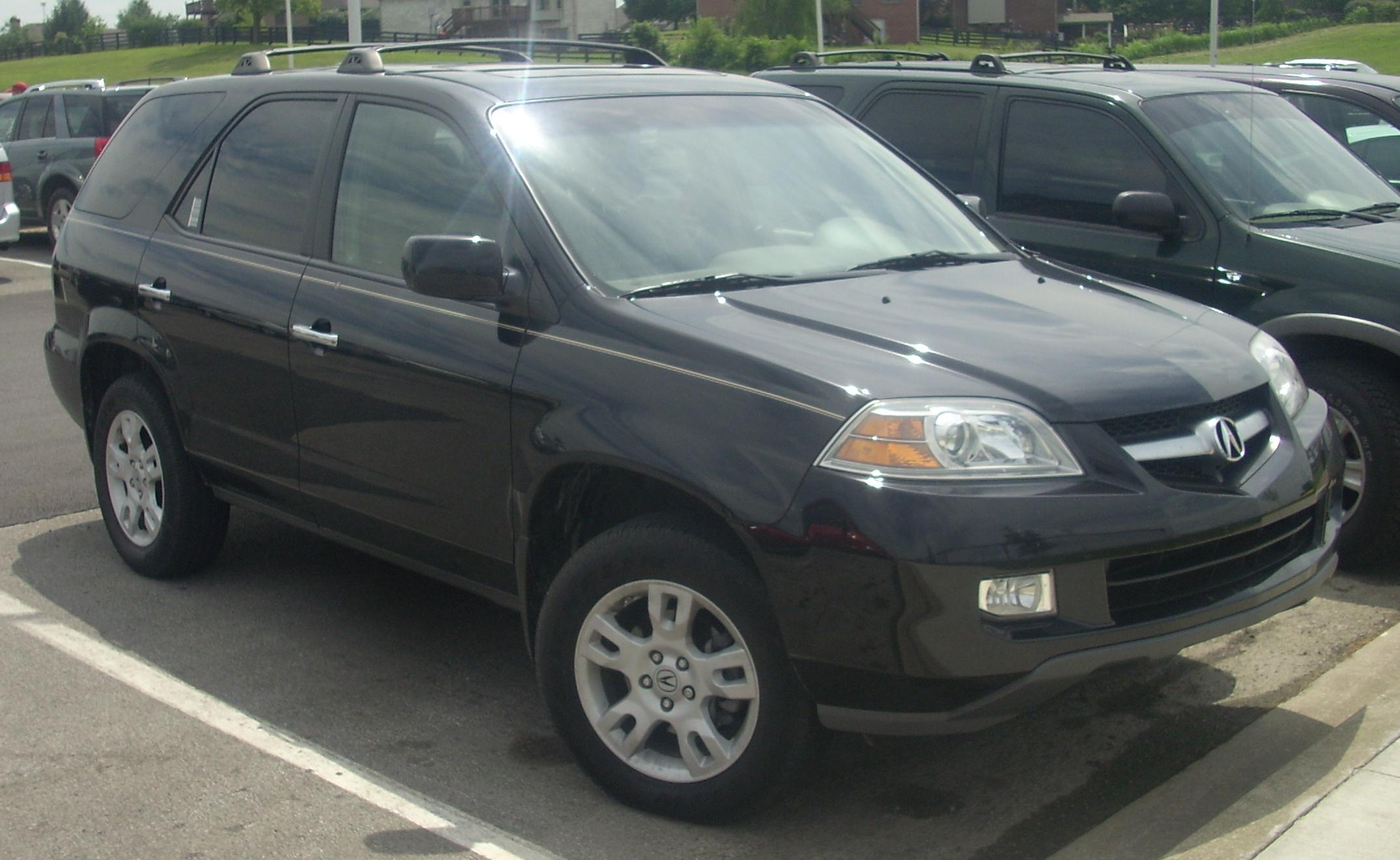 2004 Acura Mdx  pictures information and specs  AutoDatabasecom