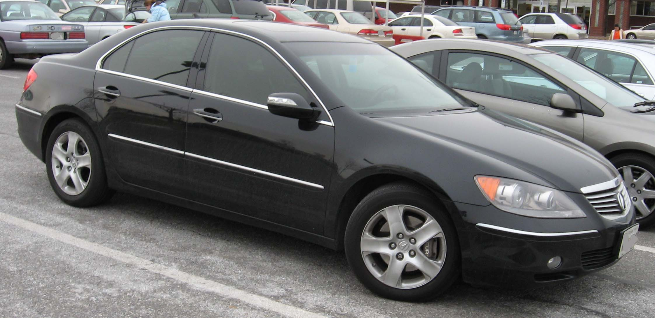 Pictures of acura rl