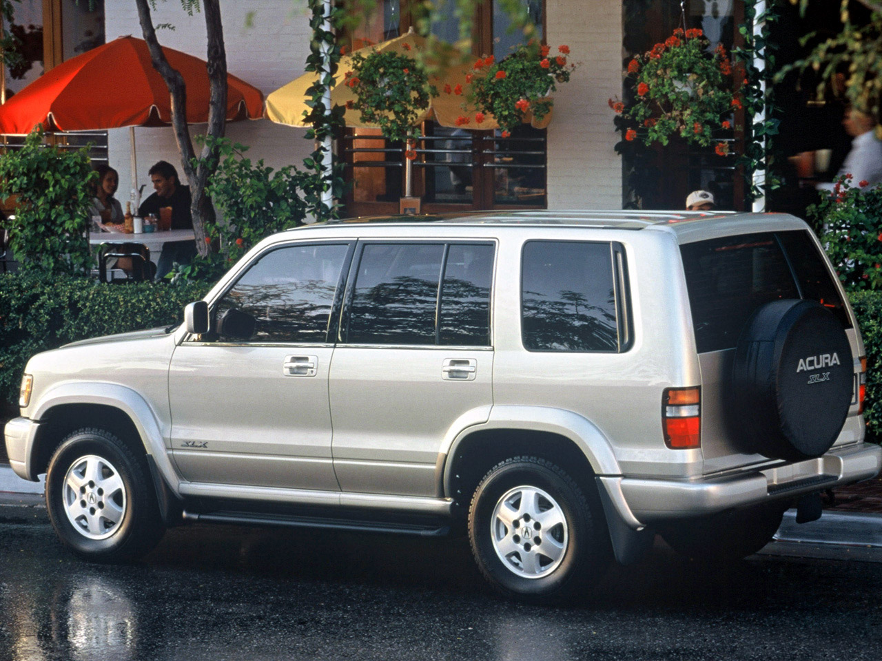 Pictures of acura slx
