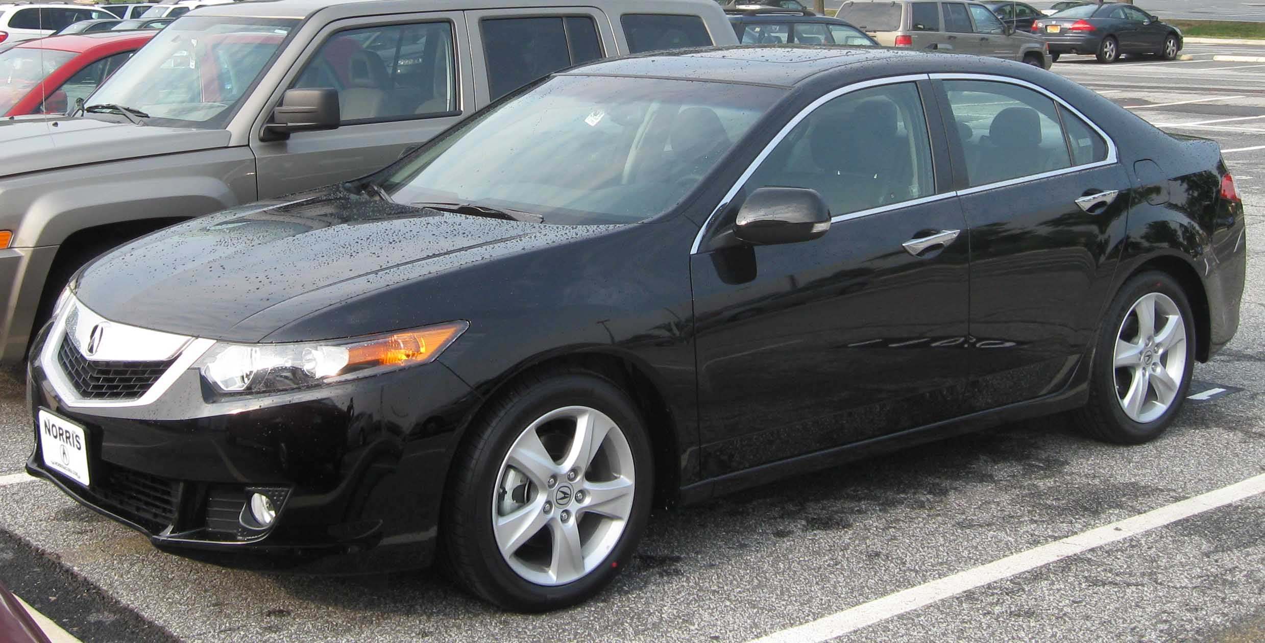 Pictures of acura tsx ii 2009