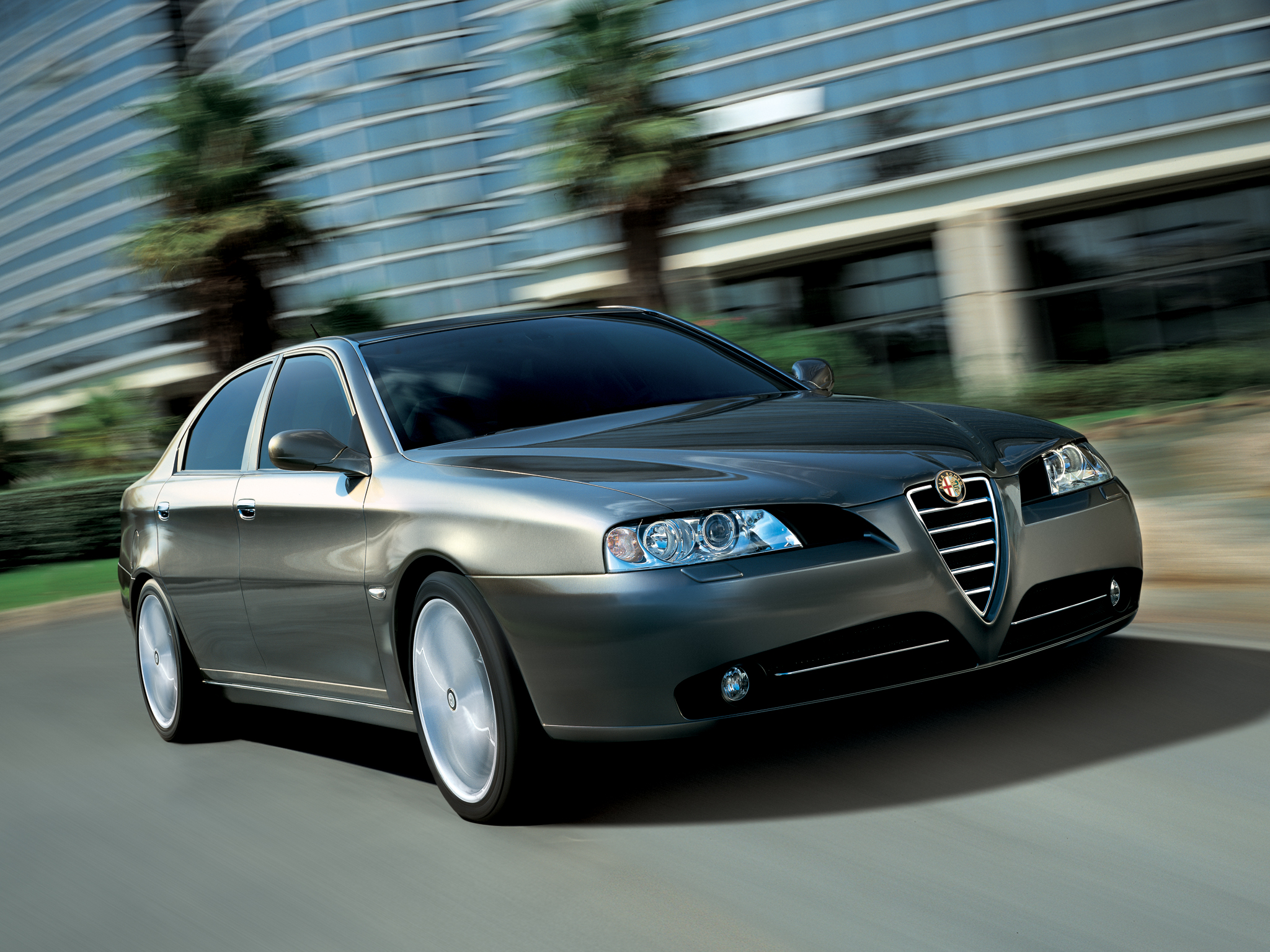 Pictures of alfa romeo 166 (936) 2003 #13