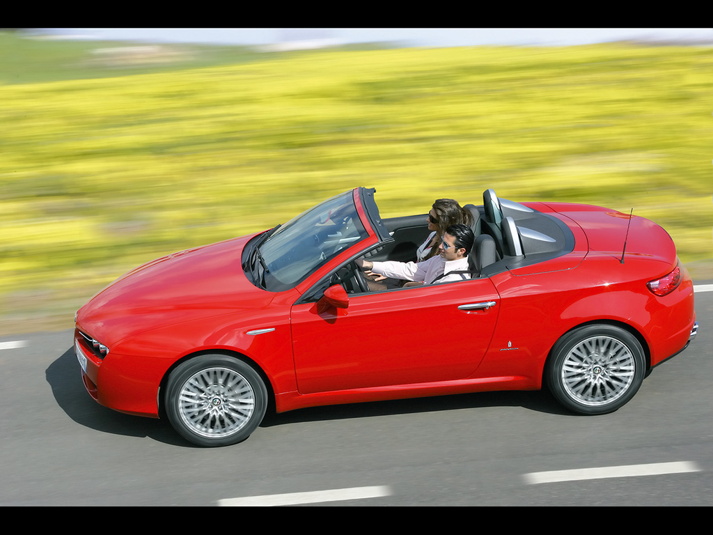 Pictures of alfa romeo spider 2007 #13