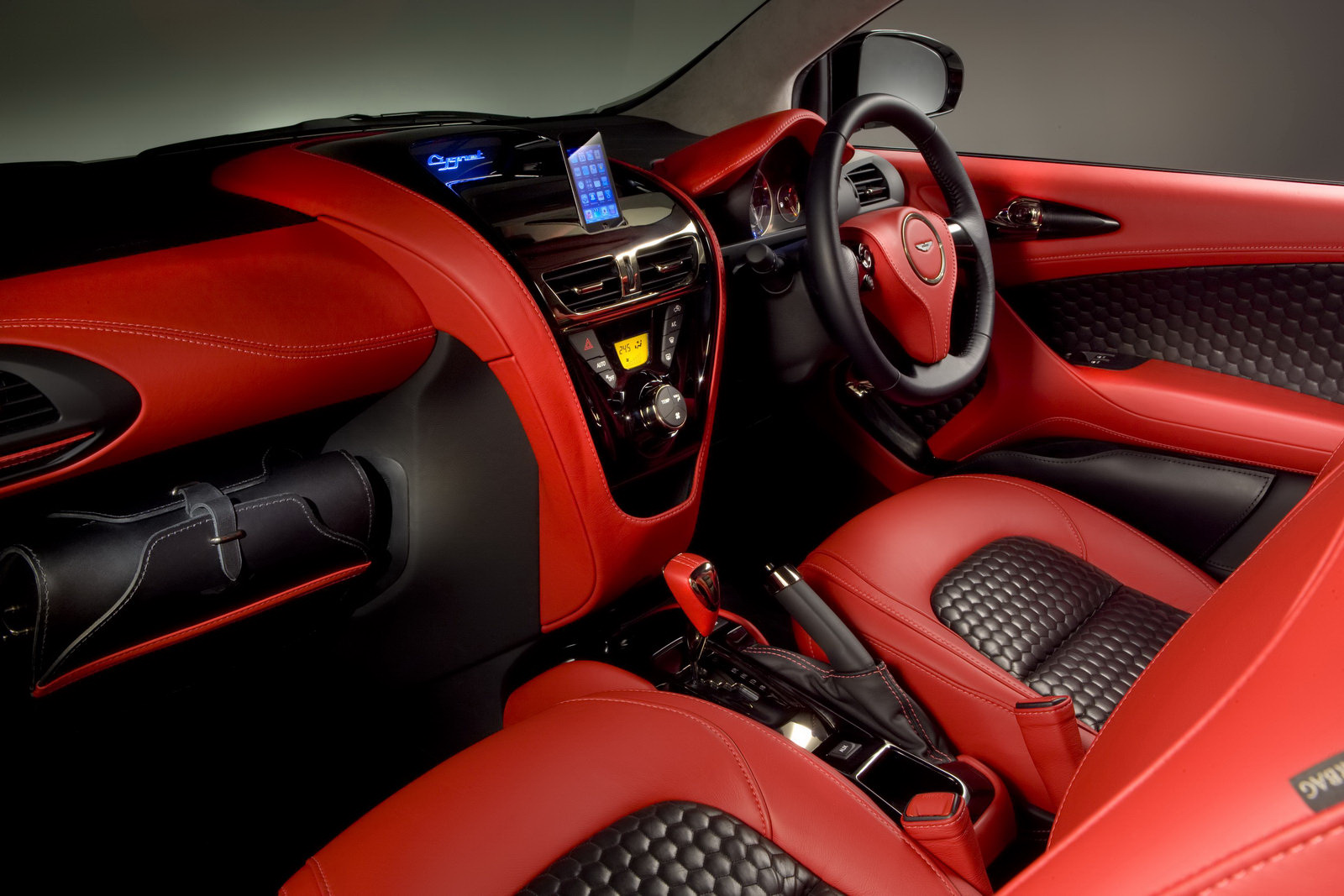 Pictures of aston martin cygnet
