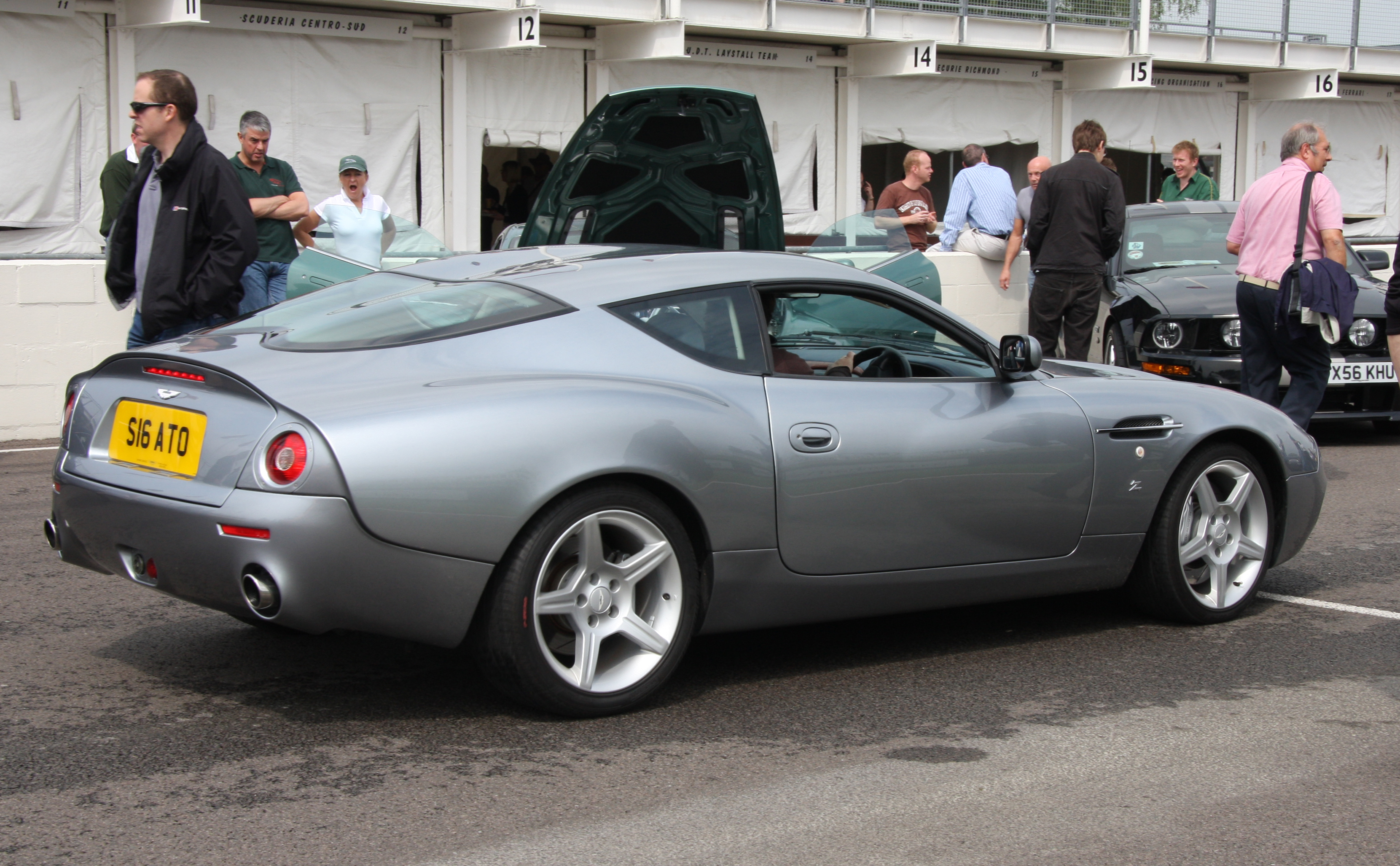 Pictures of aston martin db7 zagato 2014 #10