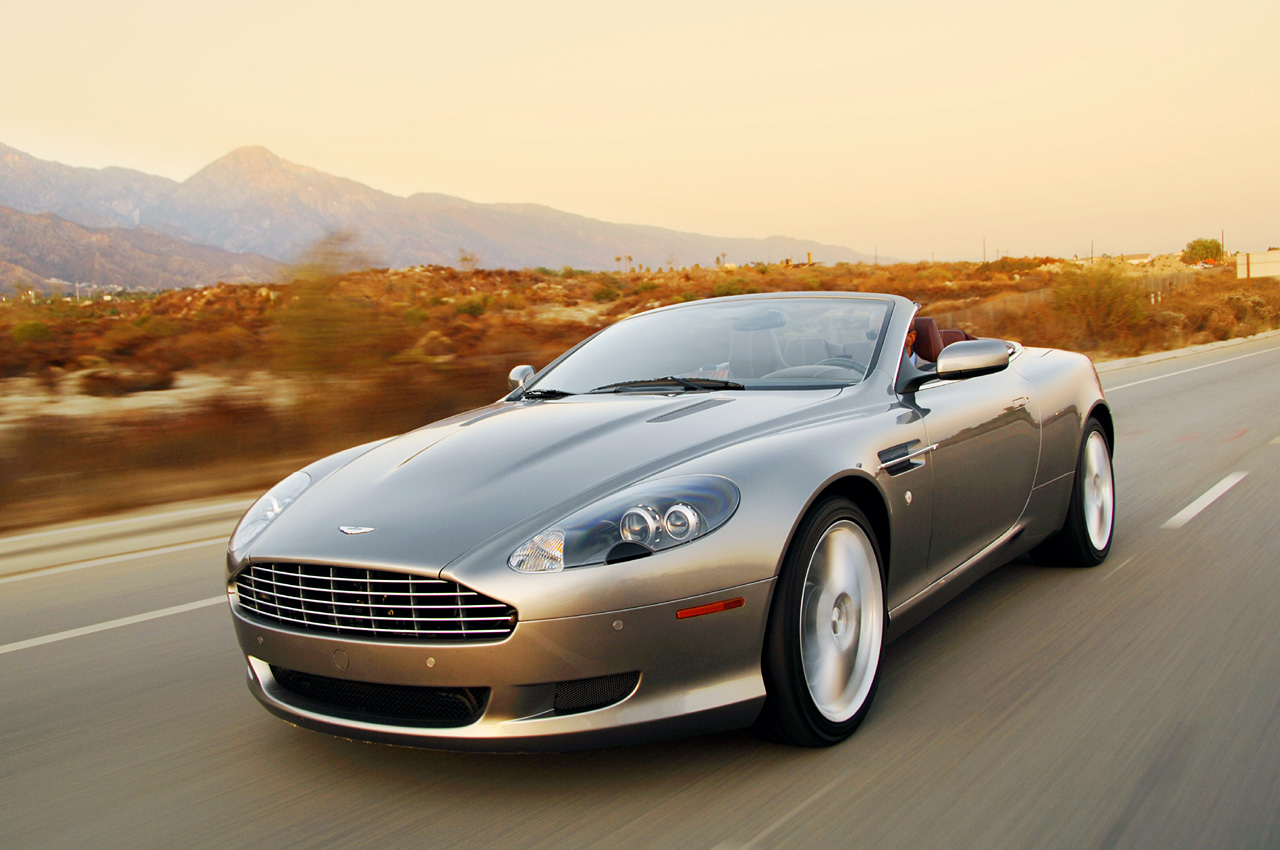 Pictures of aston martin db9 voltane 2009
