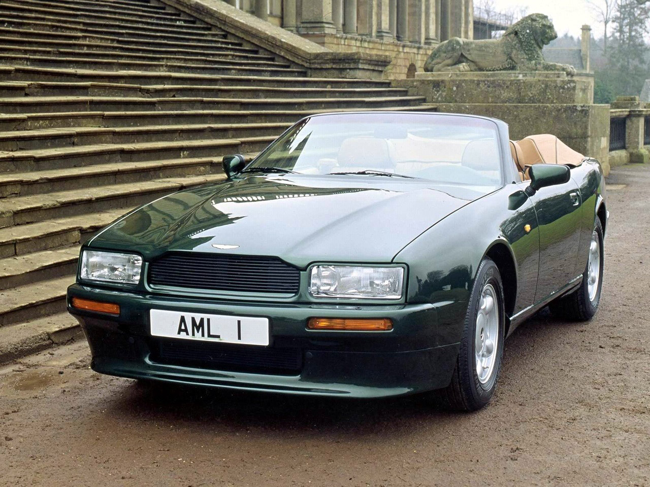 Pictures of aston martin virage volante 1992