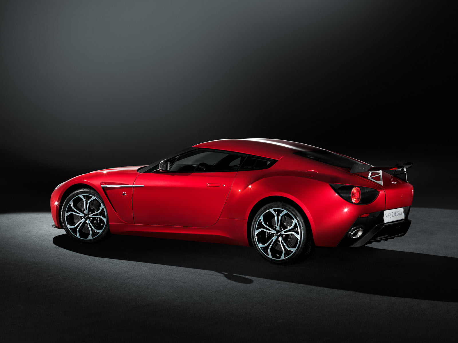 Pictures of aston martin zagato
