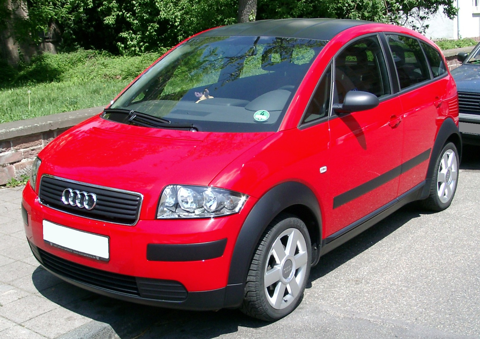 Pictures of audi a2