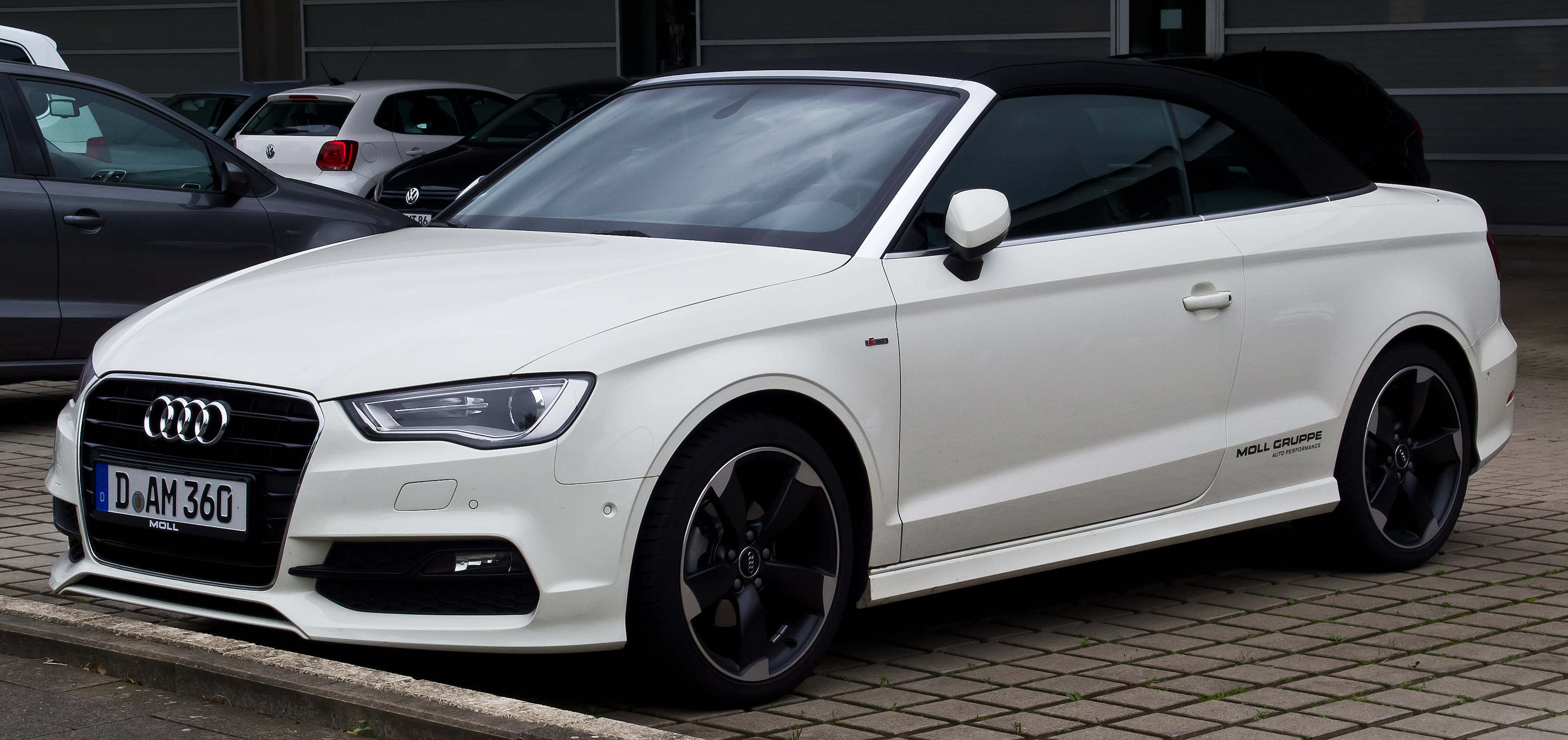Pictures of audi a3 cabrio (8v) 2015