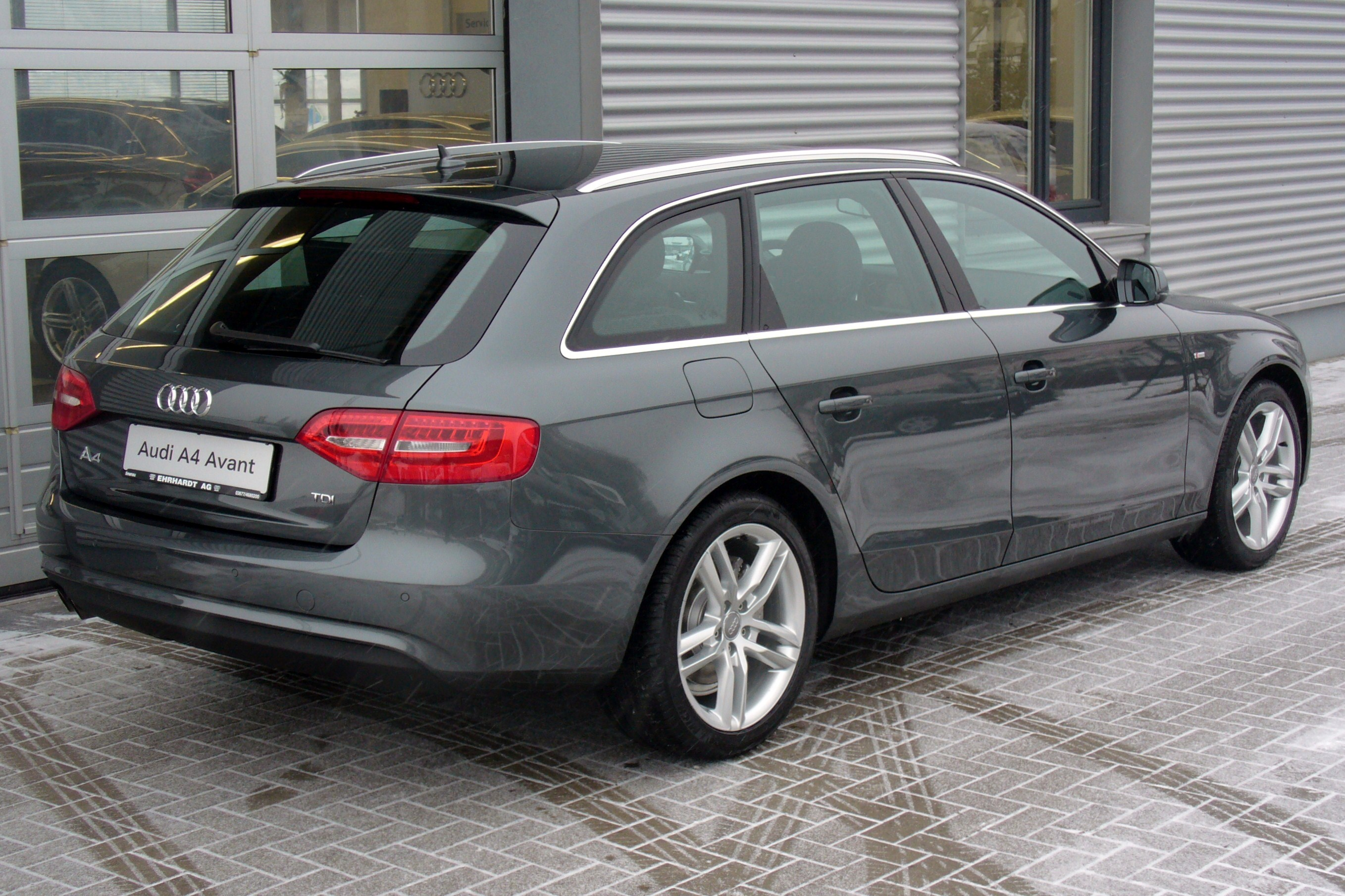 2014 Audi A4 Avant B8 Pictures Information And Specs