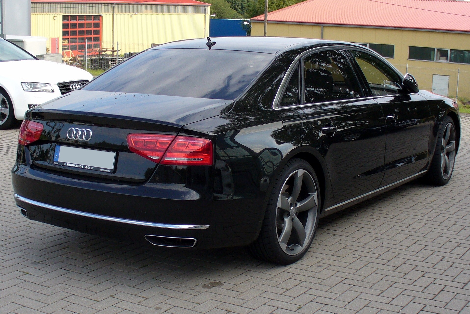 Pictures of audi a8 long (4e) 2008 #11