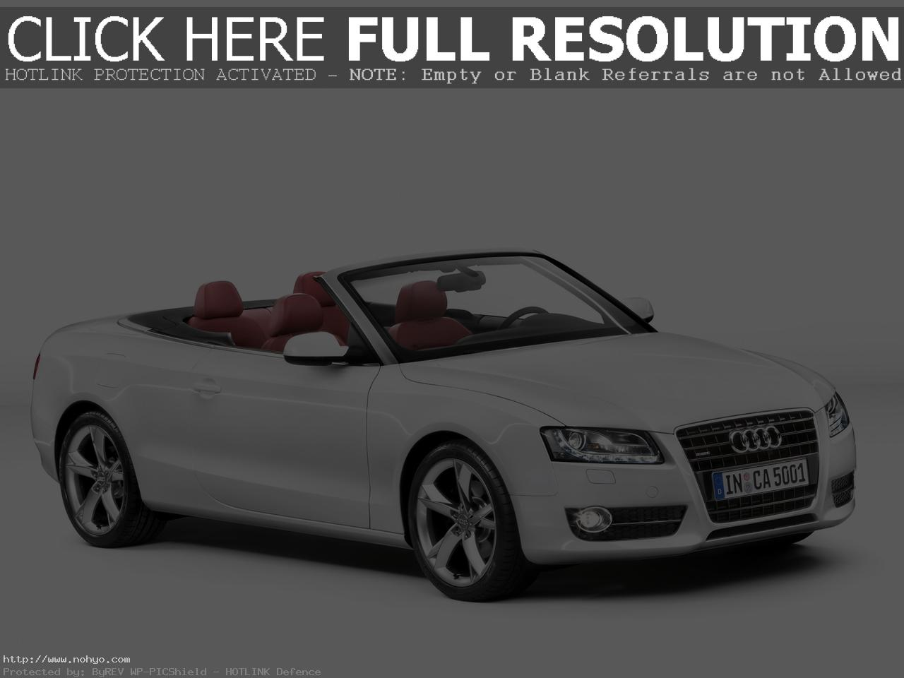 Pictures of audi cabriolet #2