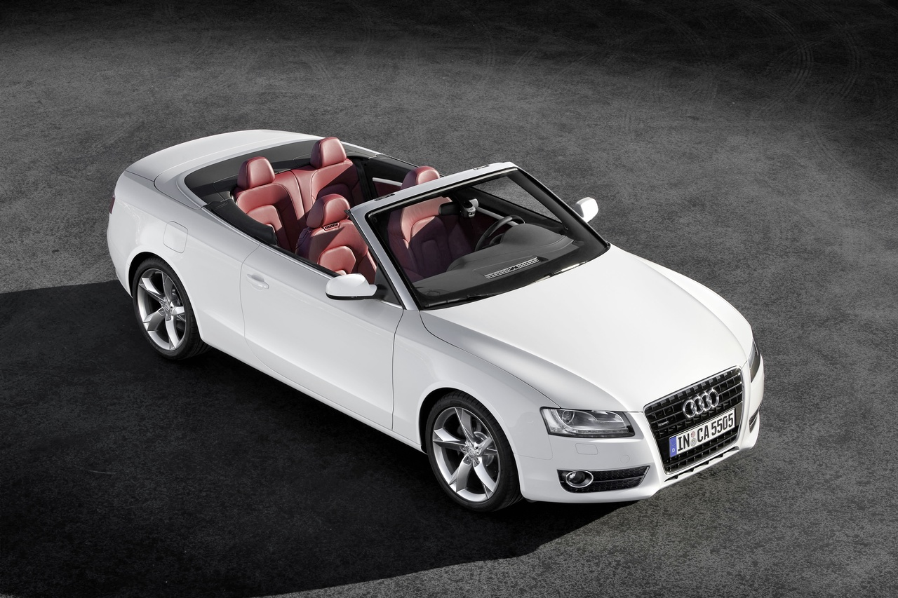 Pictures of audi cabriolet