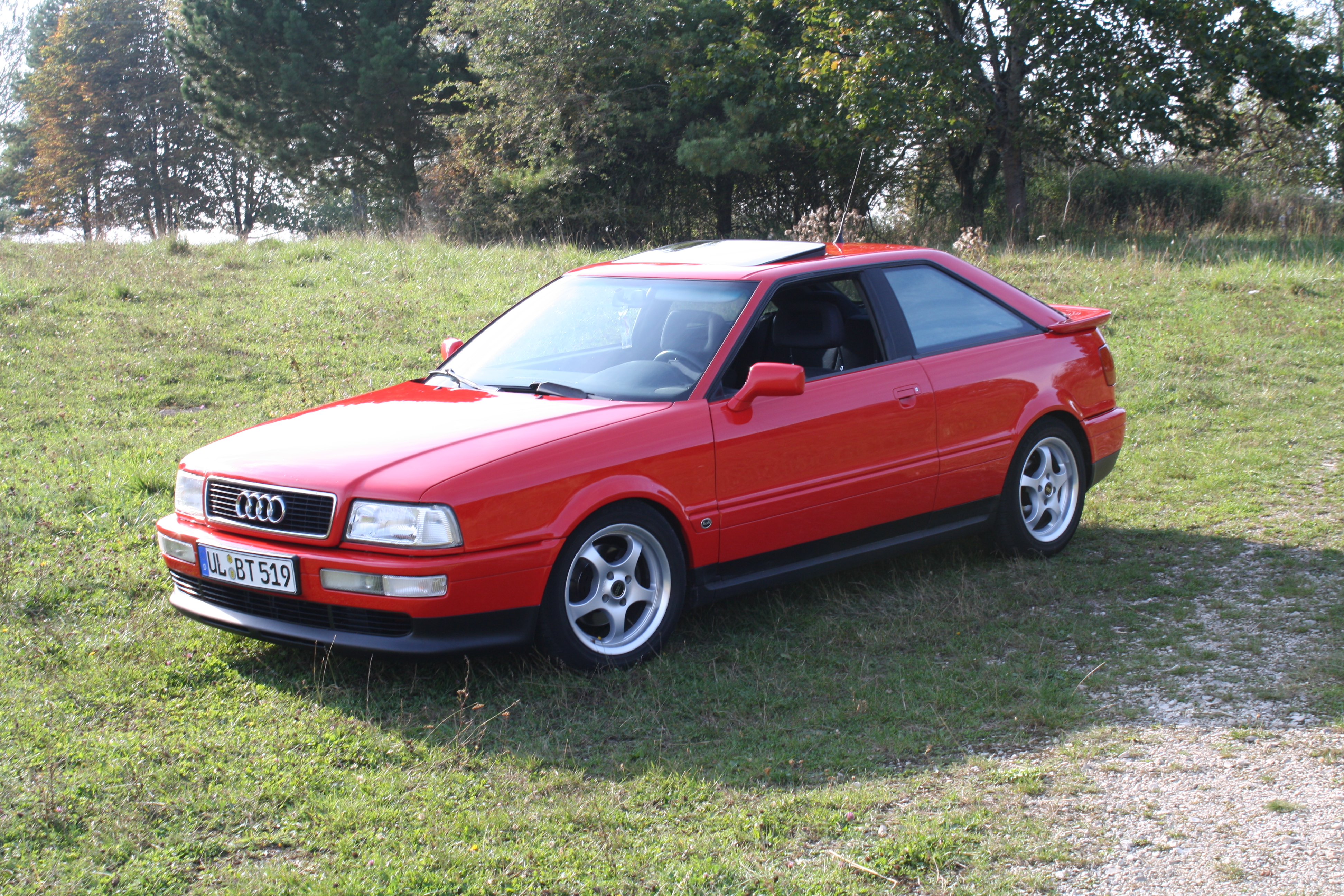 Pictures of audi coupe