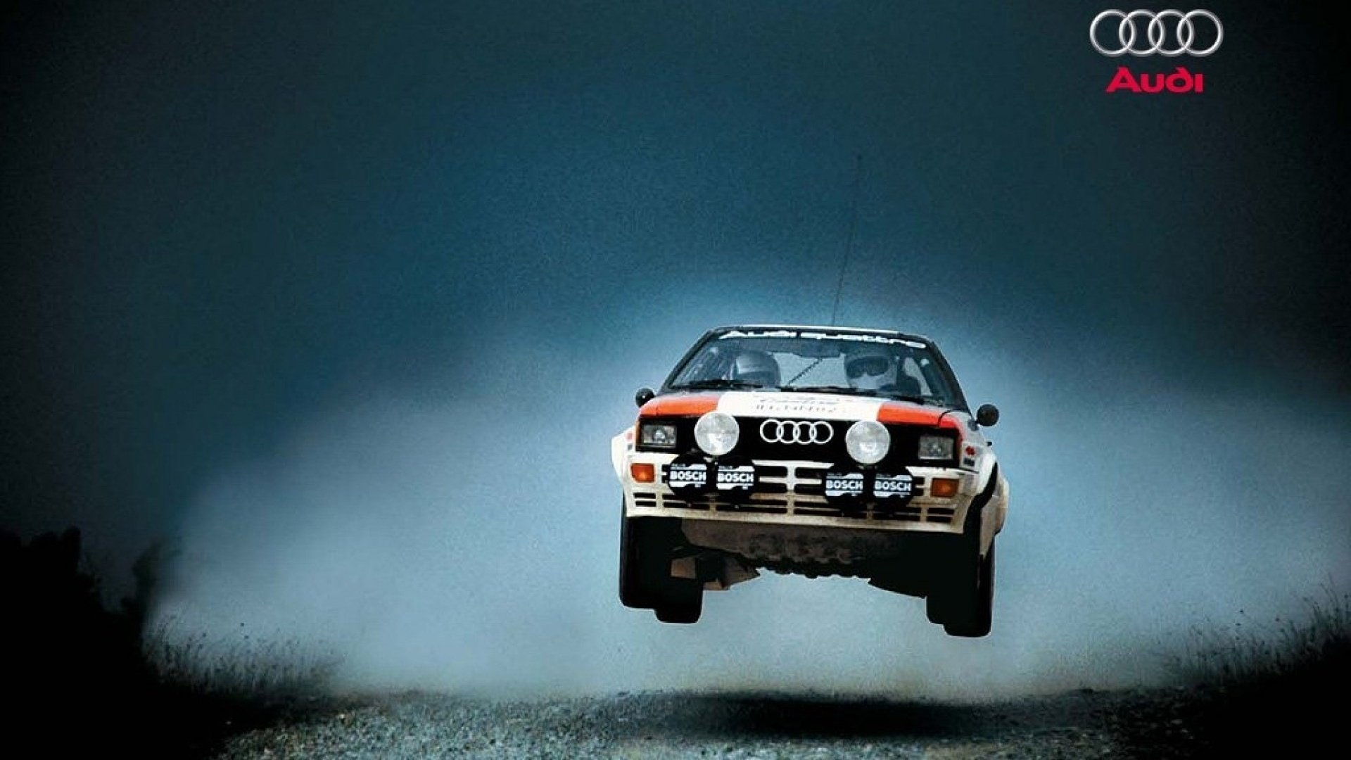 Pictures of audi quattro