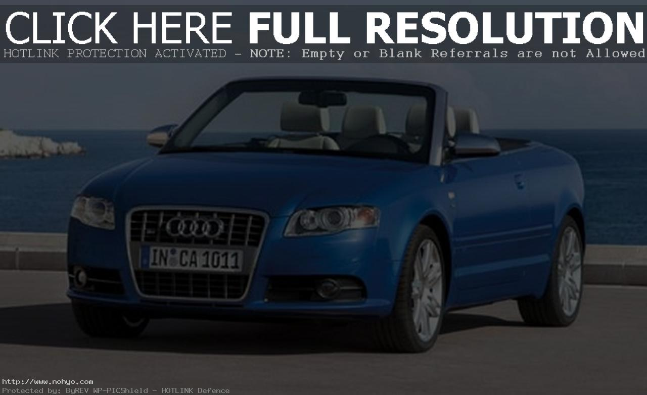 Pictures of audi s4 cabriolet 2007
