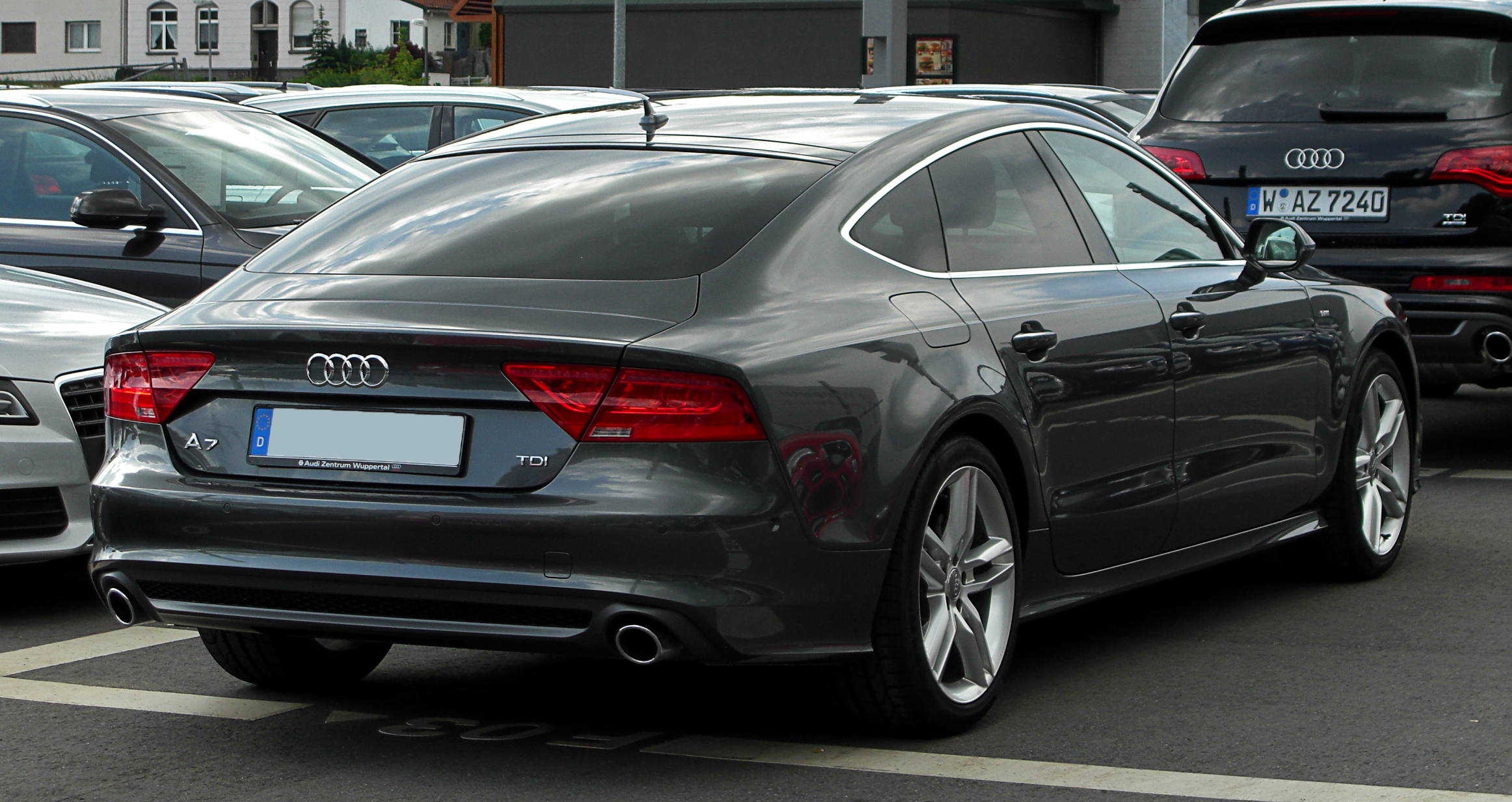 Pictures of audi s7 sportback (4g) 2012 #1